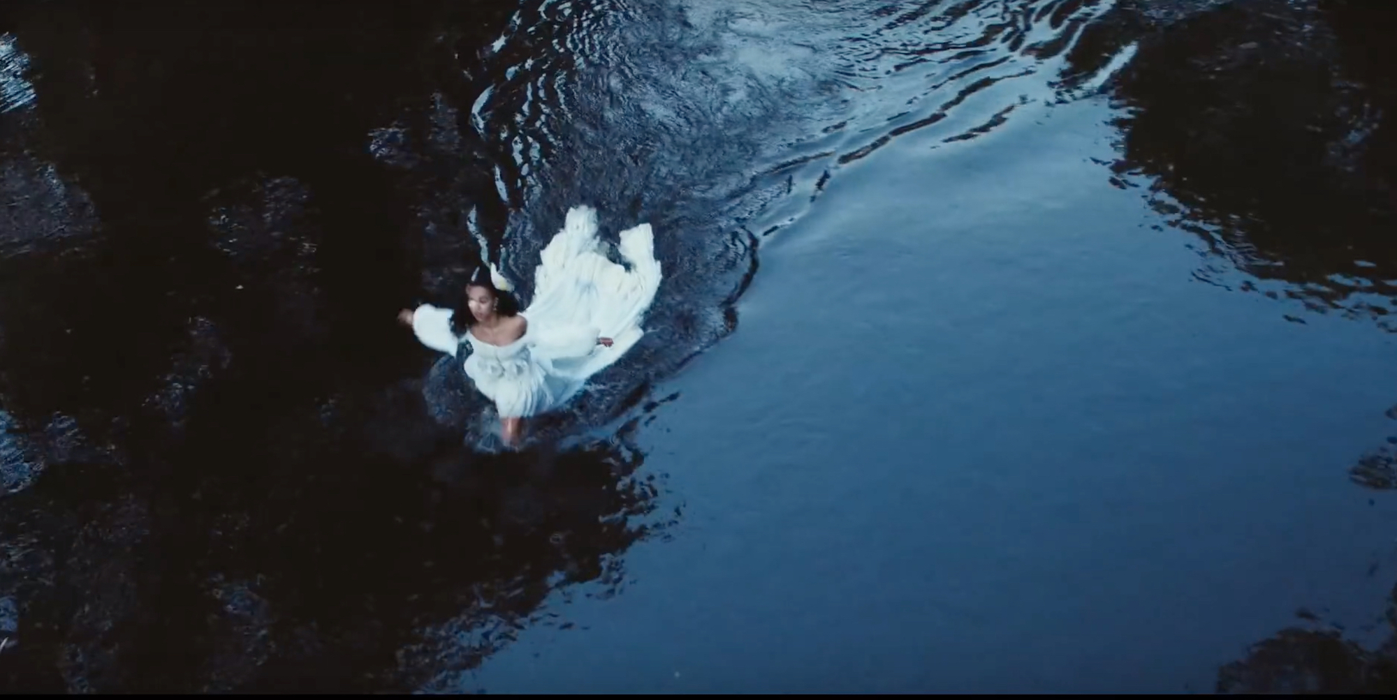 Wonderland FKA Twigs new music video water