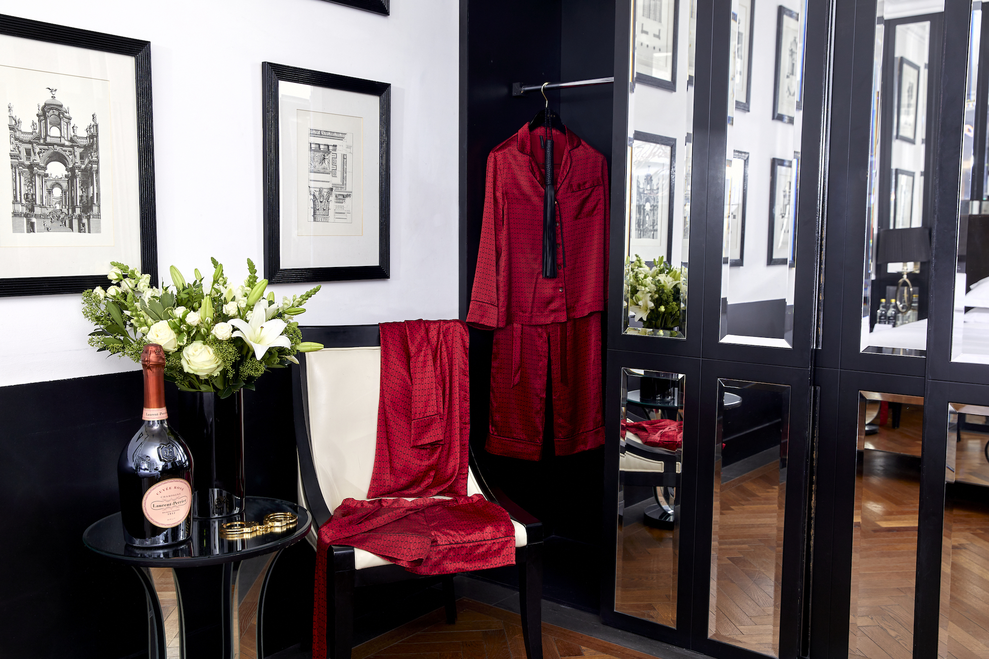 Behind Closed Doors at Blakes Hotel London robe