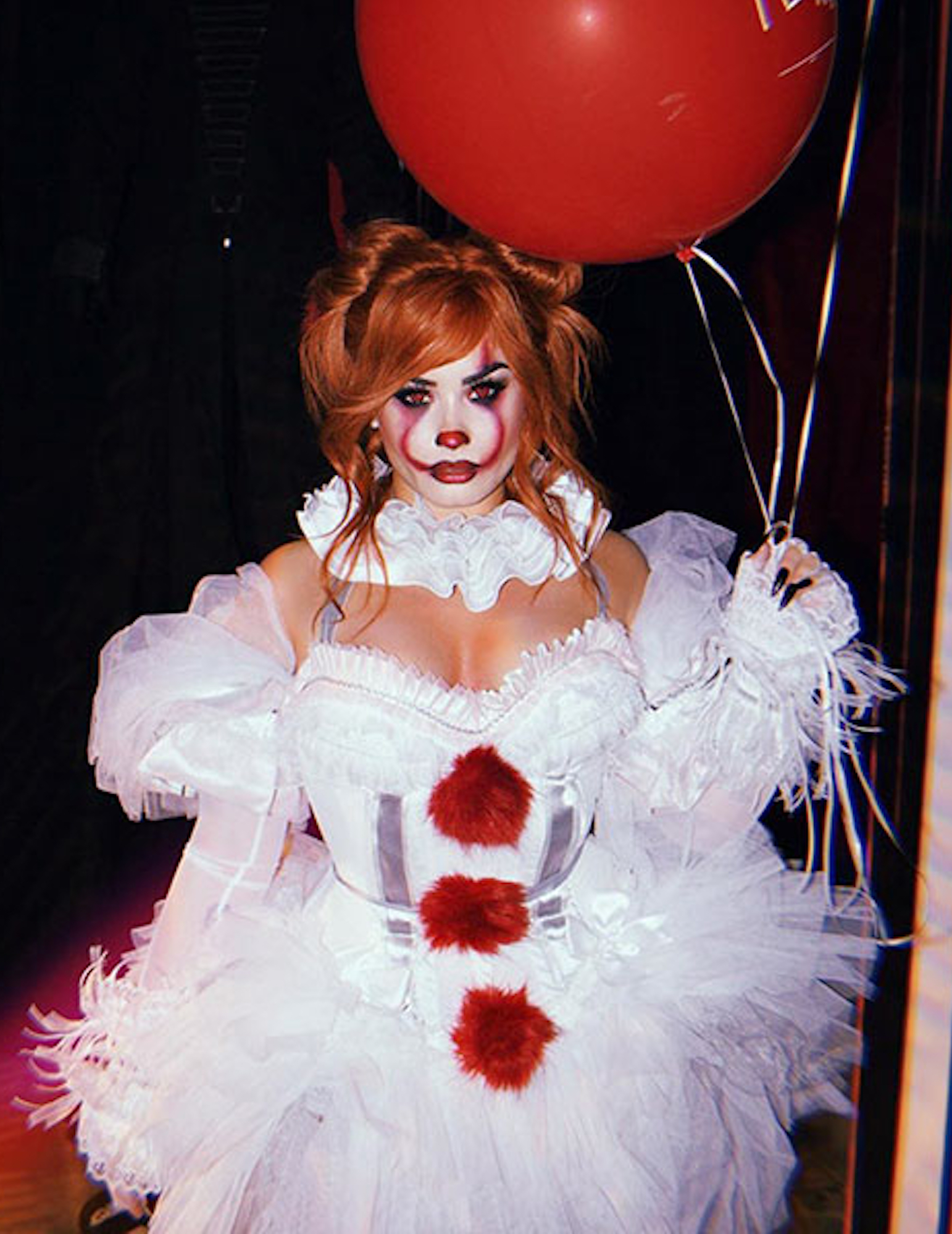 Demi Lovato Sexy Pennywise Halloween 2019