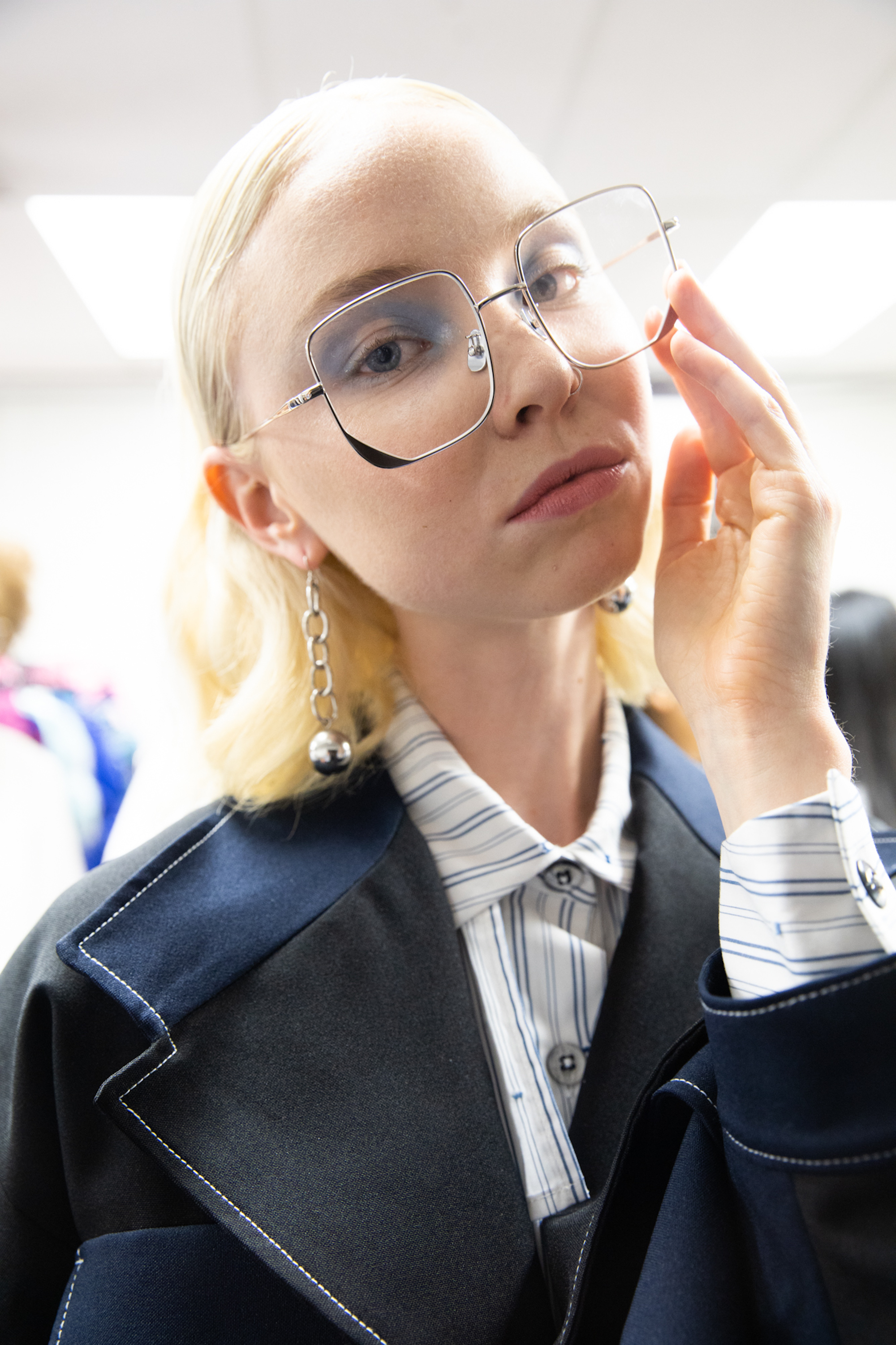 accessories glasses vancouver fashion week backstage