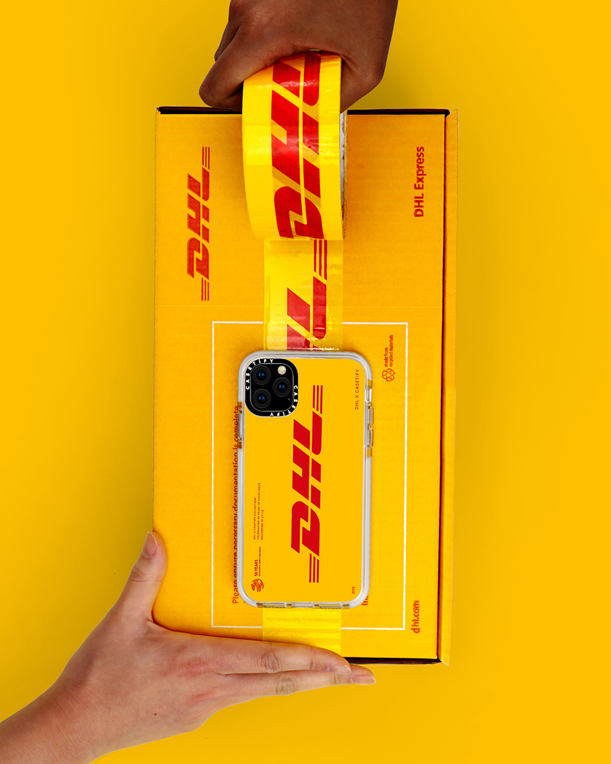CASETiFY x DHL phone case