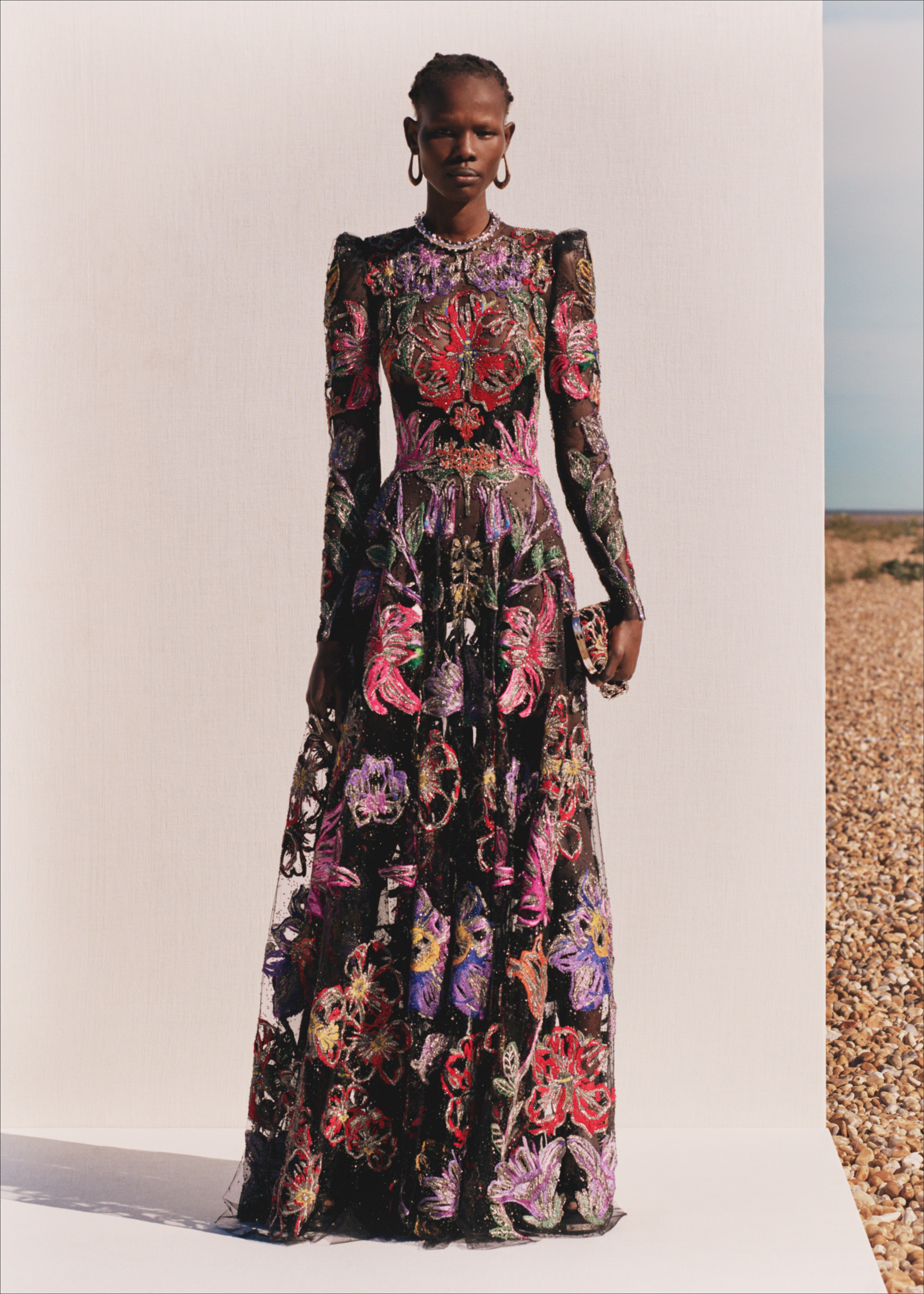 Alexander McQueen SS20 floral dress