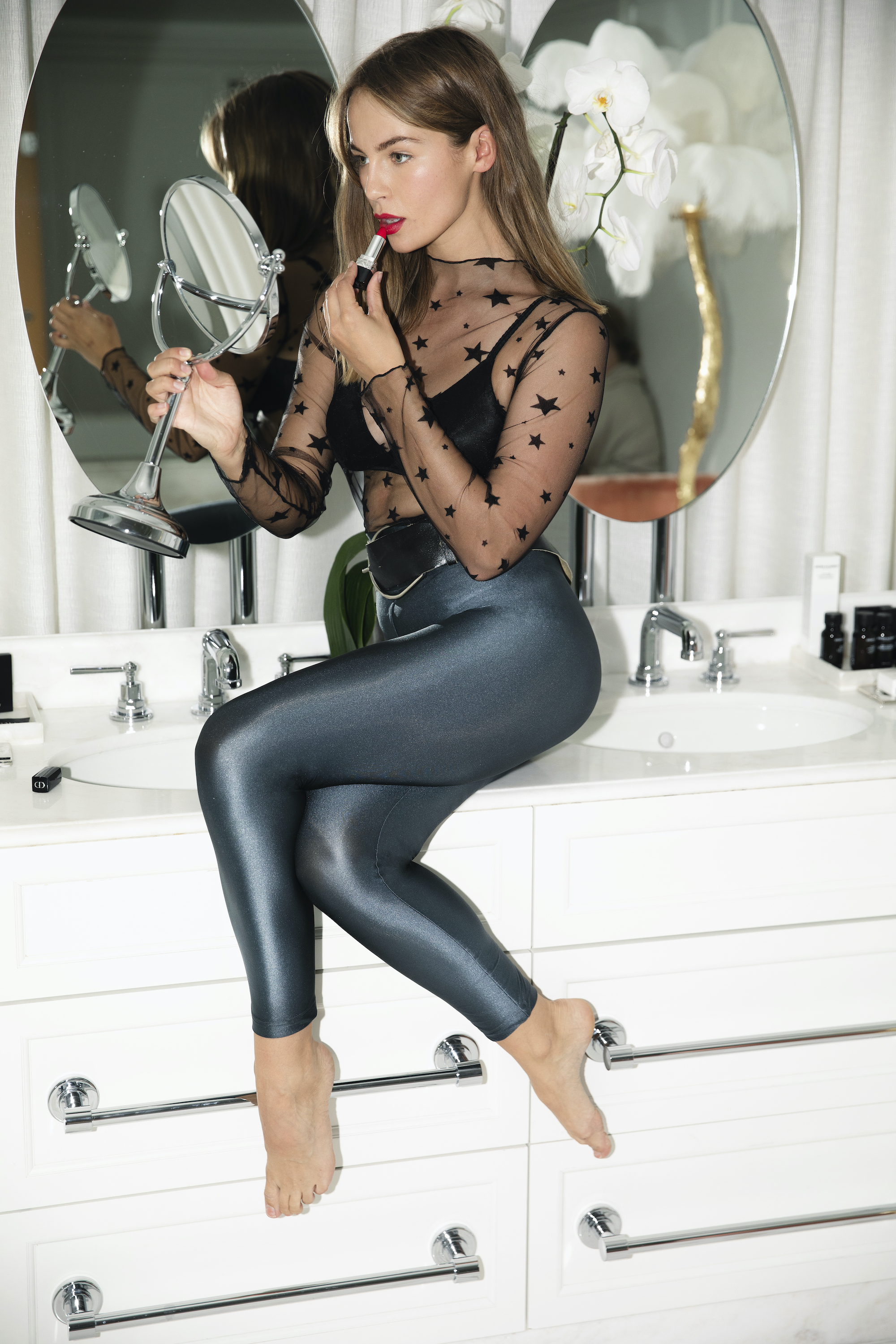 Wonderland Calzedonia Christmas campaign Emma Louise Connolly