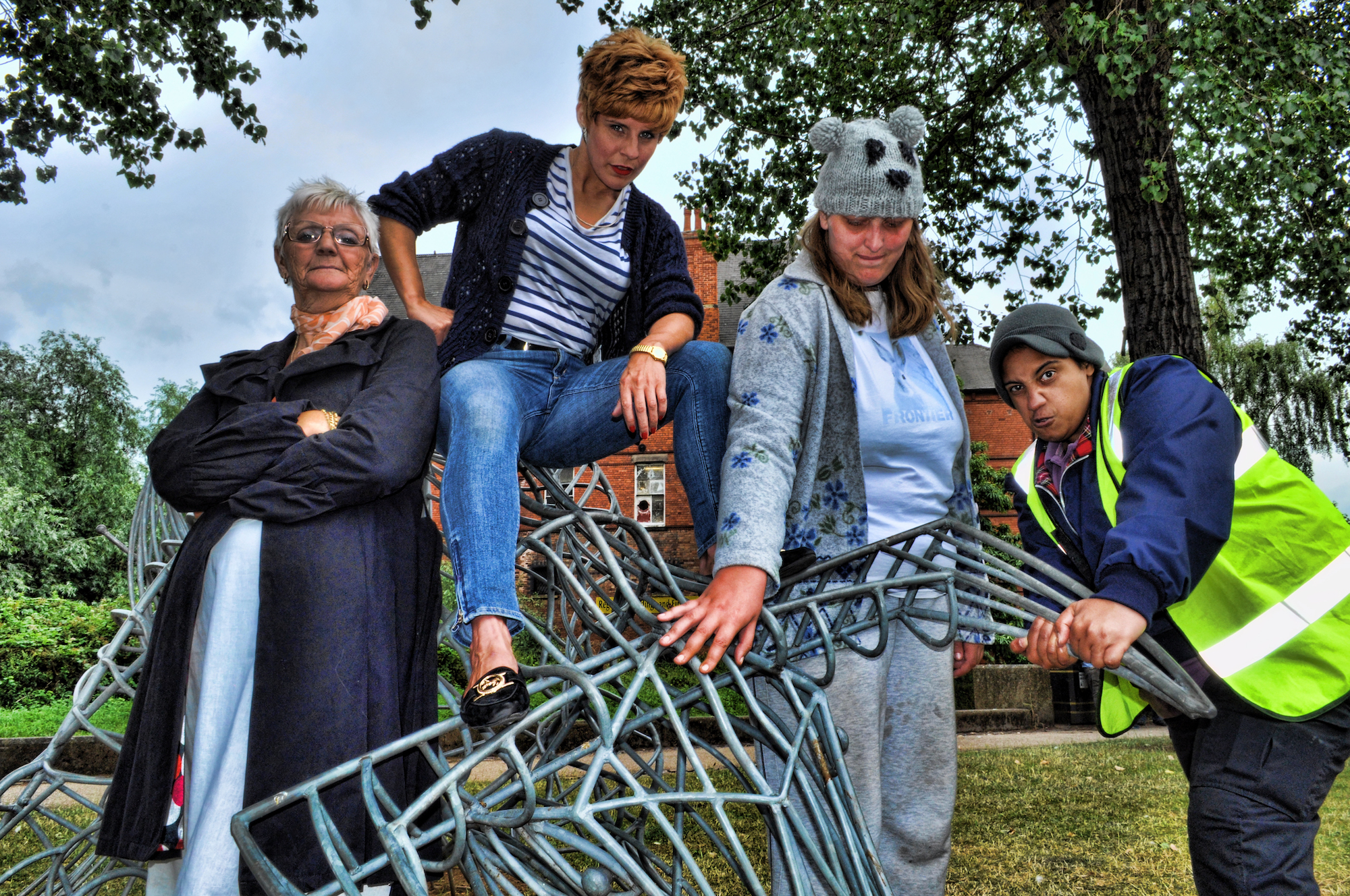 Celebrity Charity: Charity Shop Sue Sec*hand Chances Vera Kirsch Viki Bull