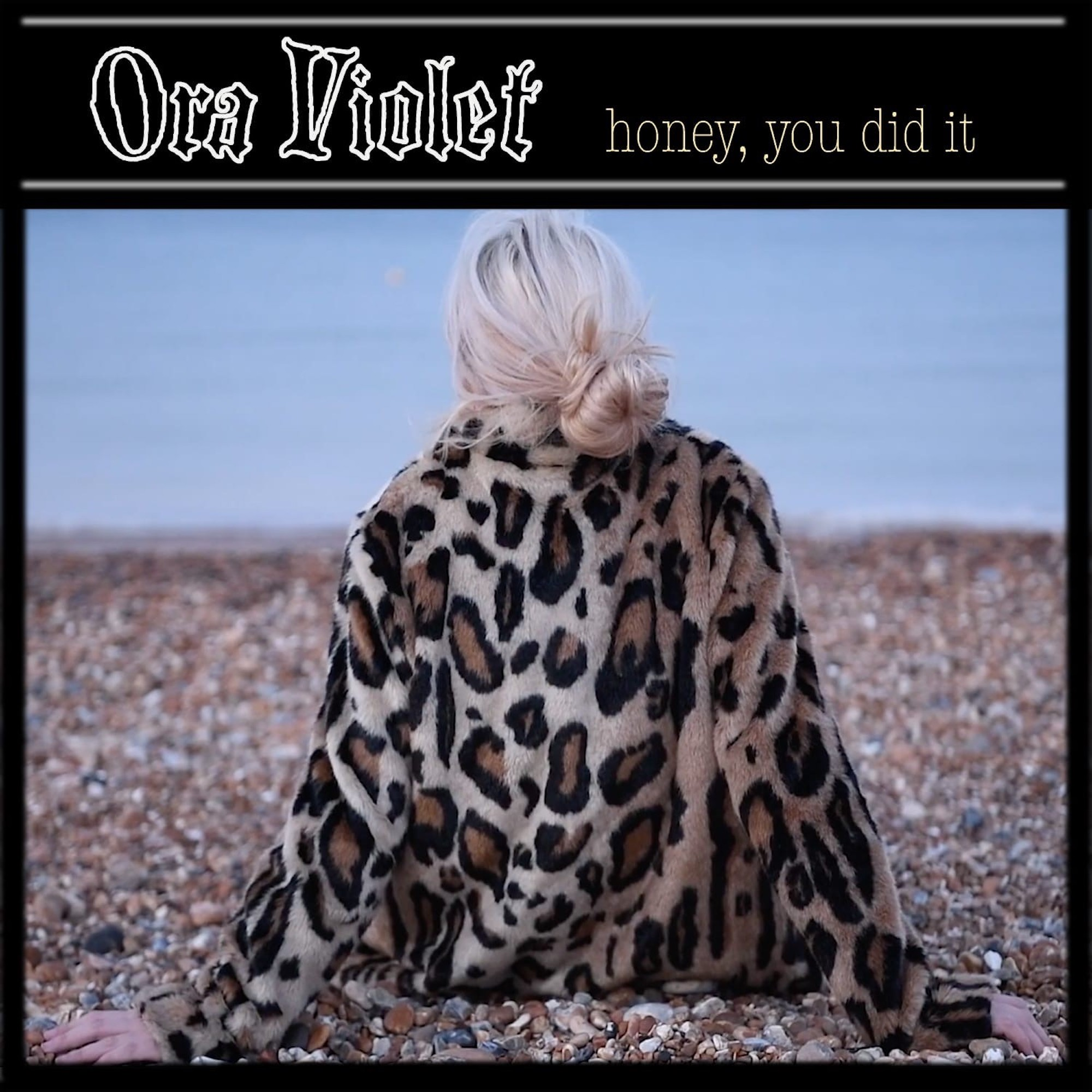 Ora Violet Honey You Did It Cover Art