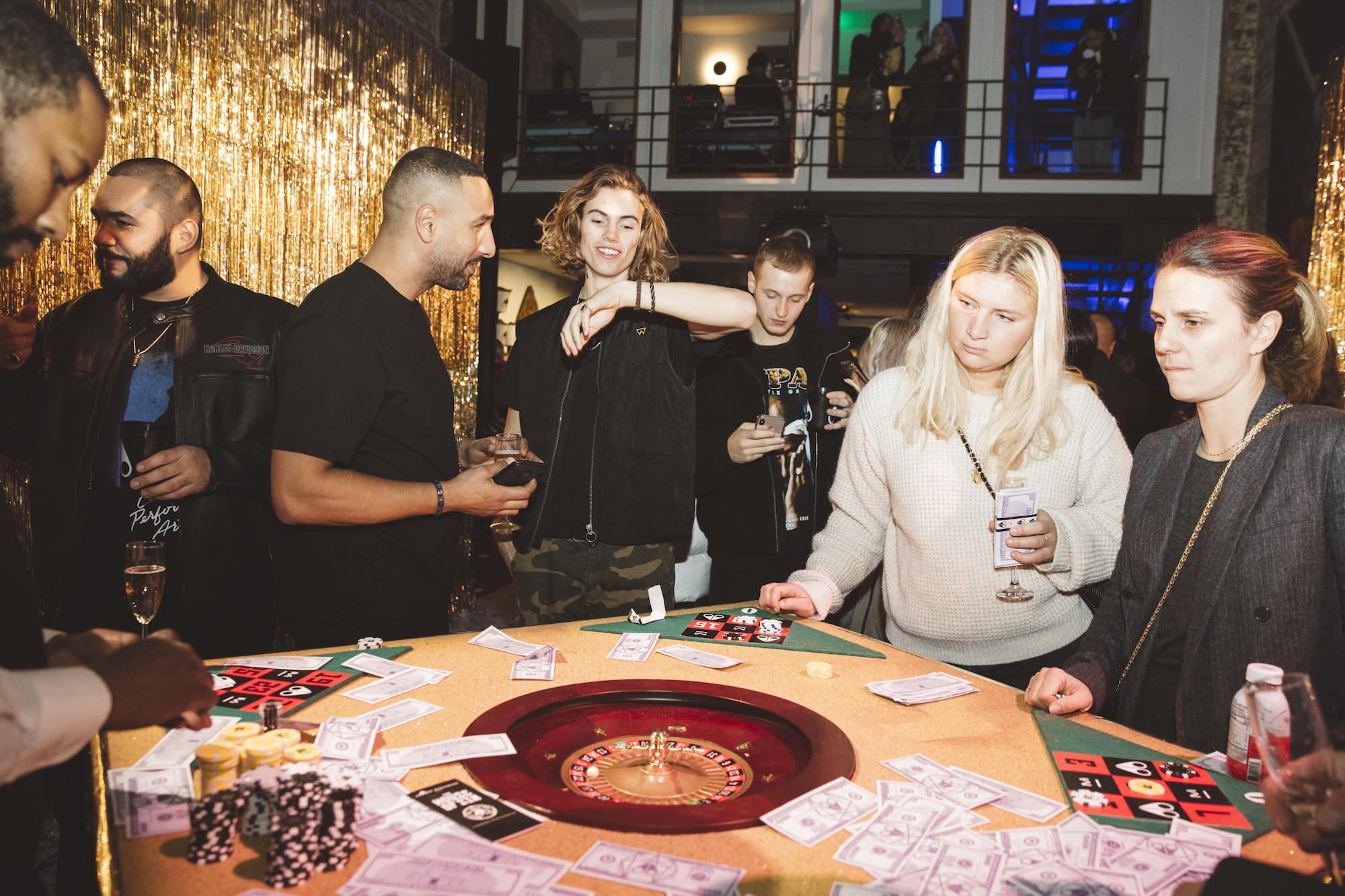 Moose Knuckles Soho Store Opening Casino