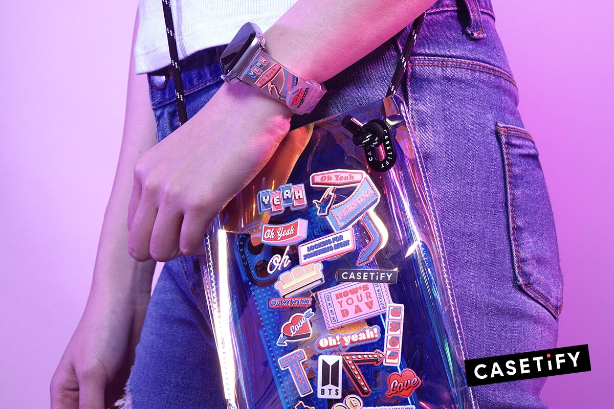 bag BTS band CASETiFY tech collaboration