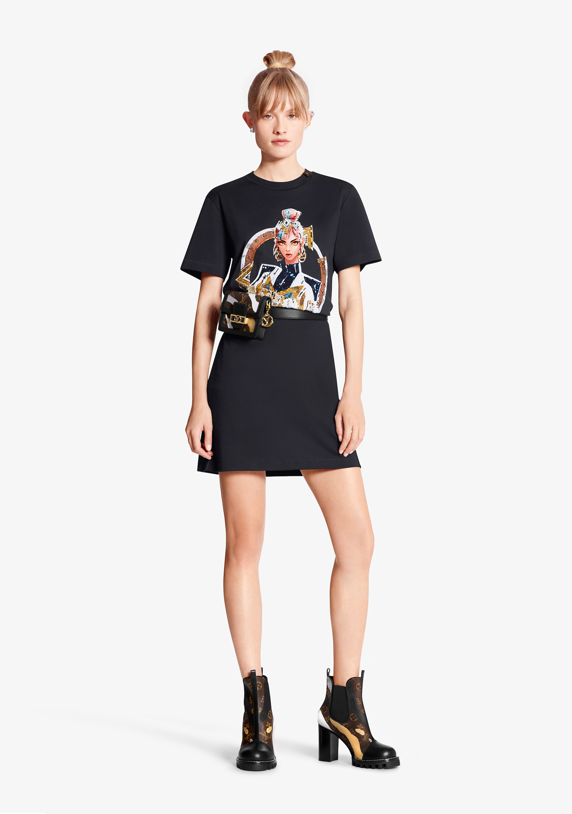 Louis Vuitton x League of Legends capsule collection t-shirt