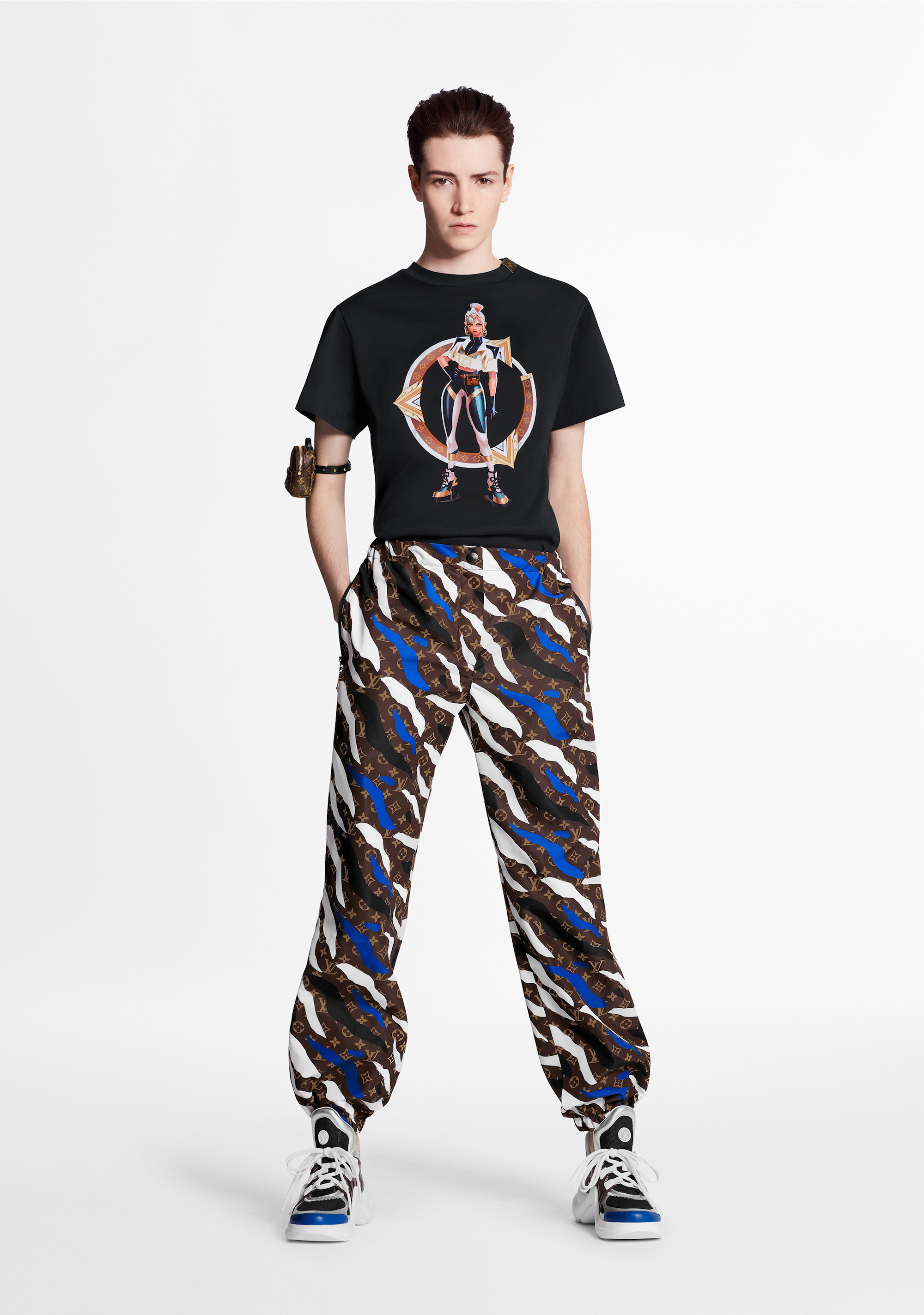 Louis Vuitton x League of Legends capsule collection trousers