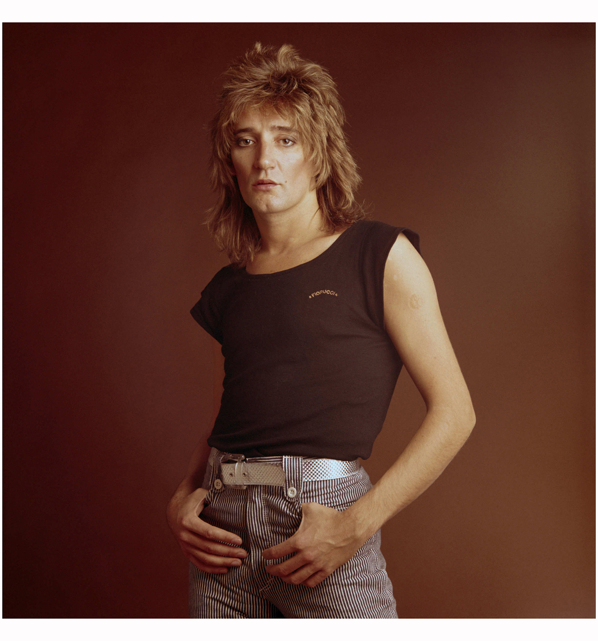 Rod Stewart in Fiorucci archive images