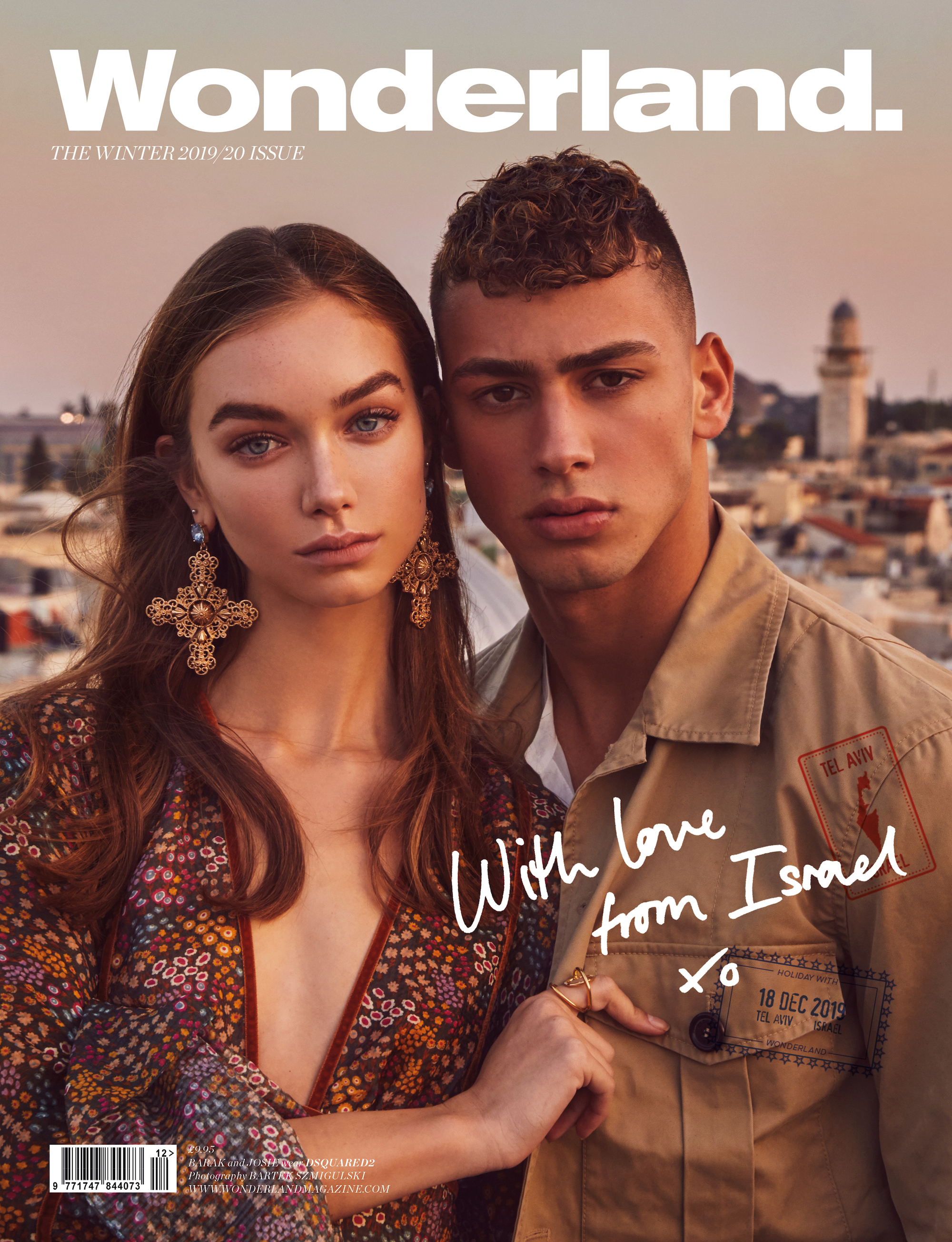 Israel tourism Winter issue of Wonderland