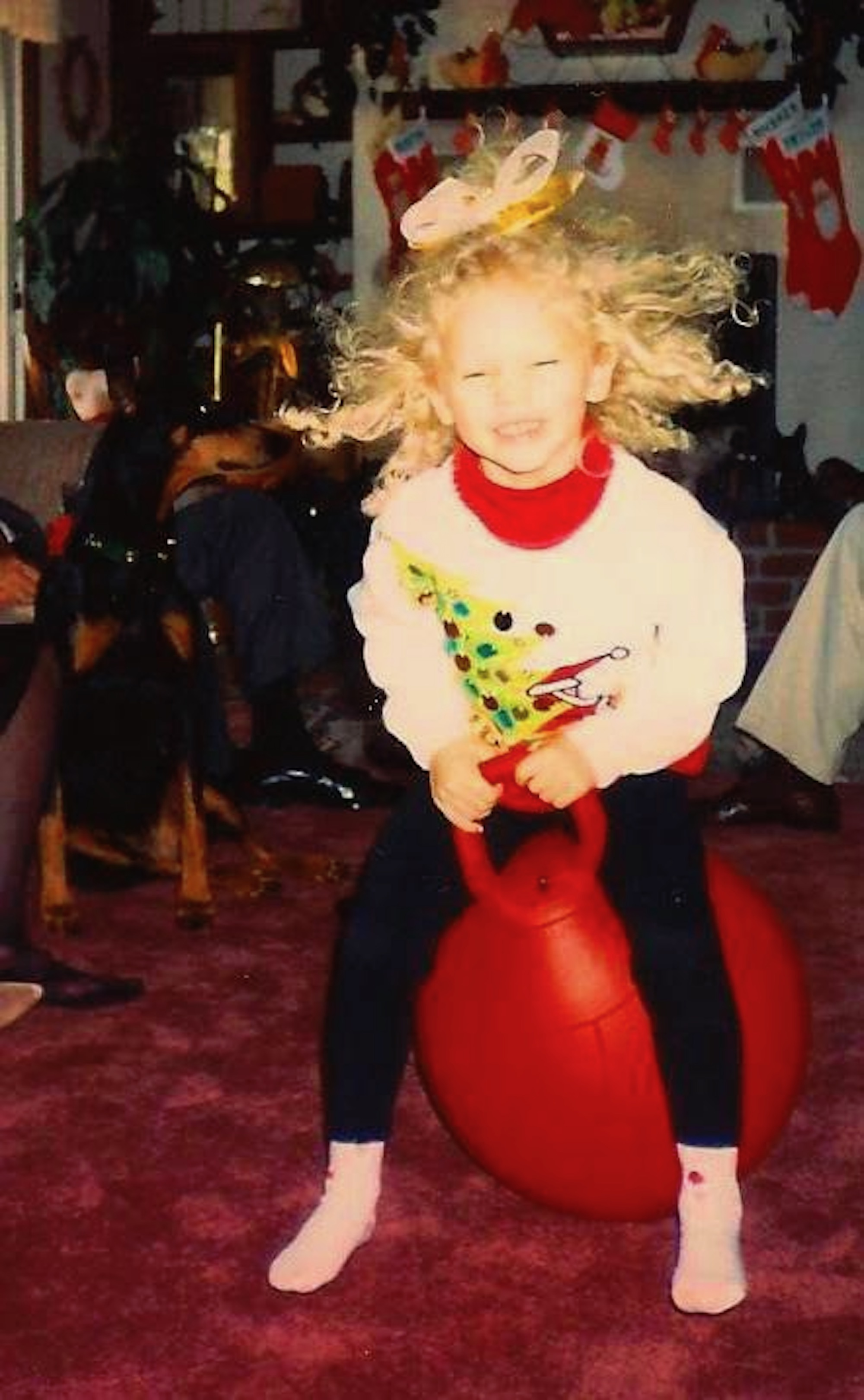 Taylor Swift Christmas Tree Farm childhood photo