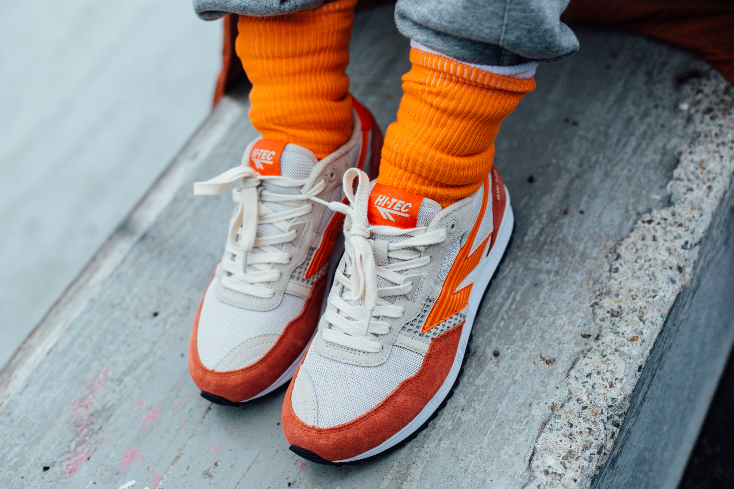 Hi-tec announces AW19 orange trainers