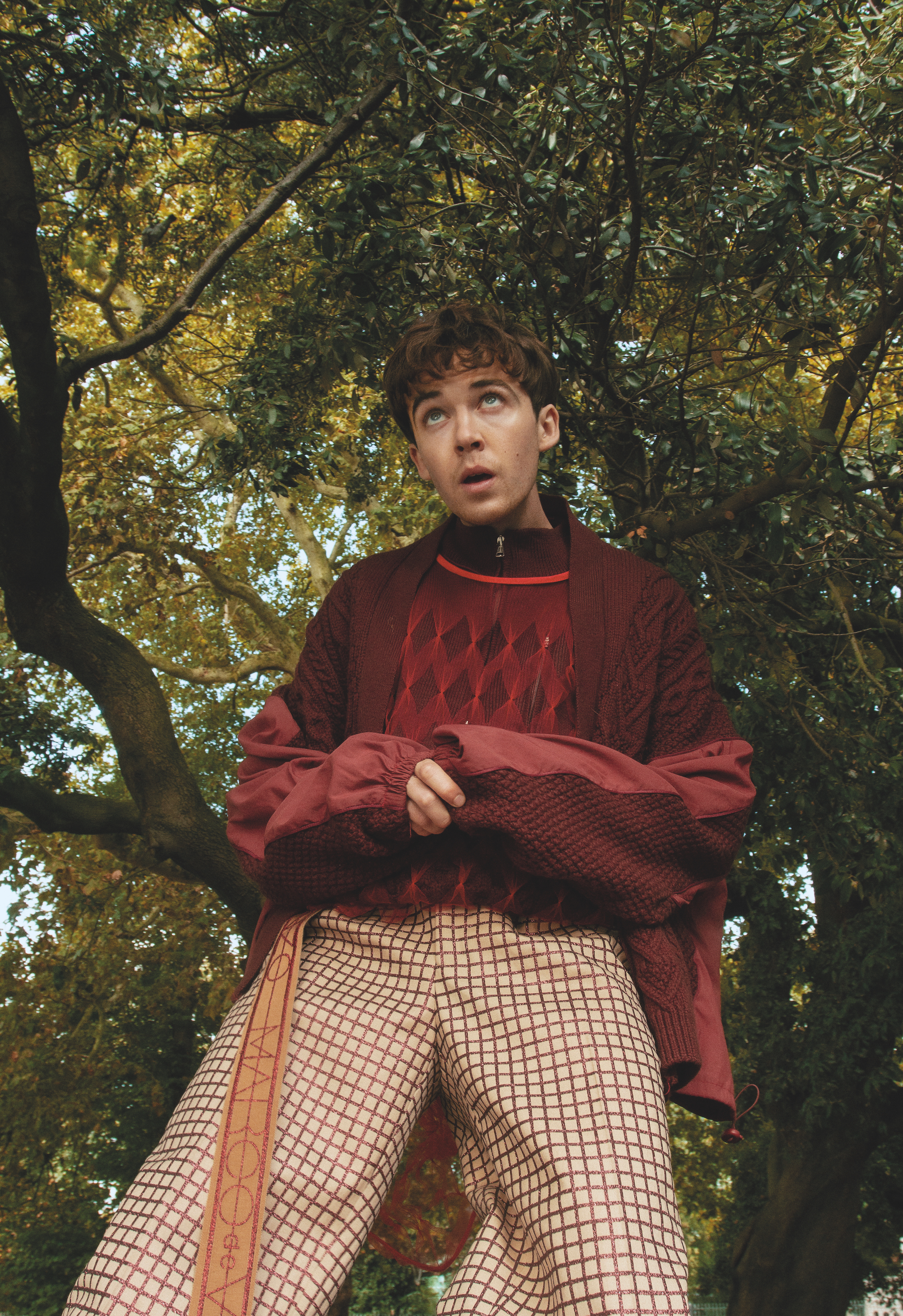 Alex Lawther by Matias Jalmari for Wonderland Magazine