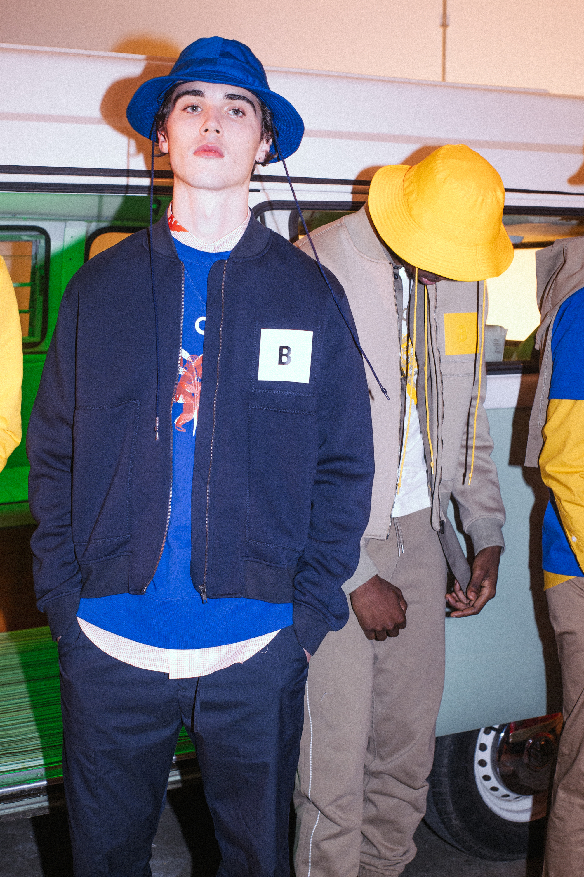BAND OF OUTSIDERS JADE BERRY Yellow Blue