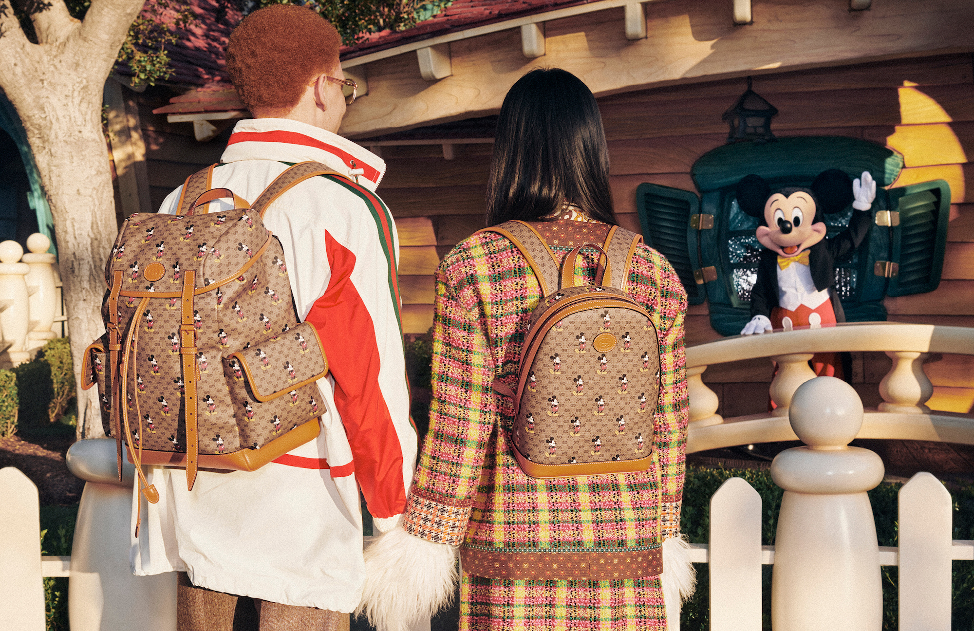 Gucci x Mickey Mouse Chinese New year collection back pack