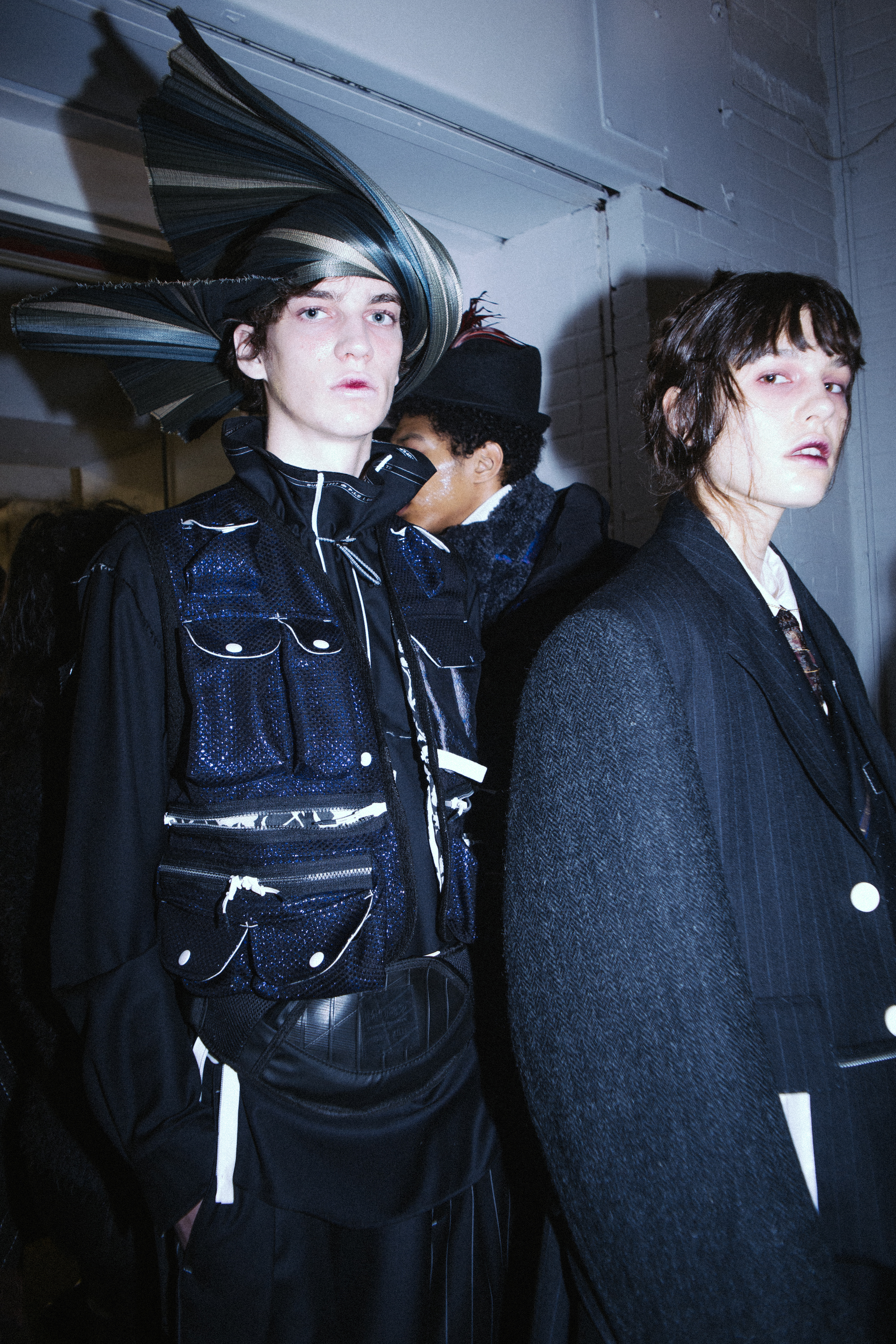MUNN AW20 LFWM Jade Berry Pockets
