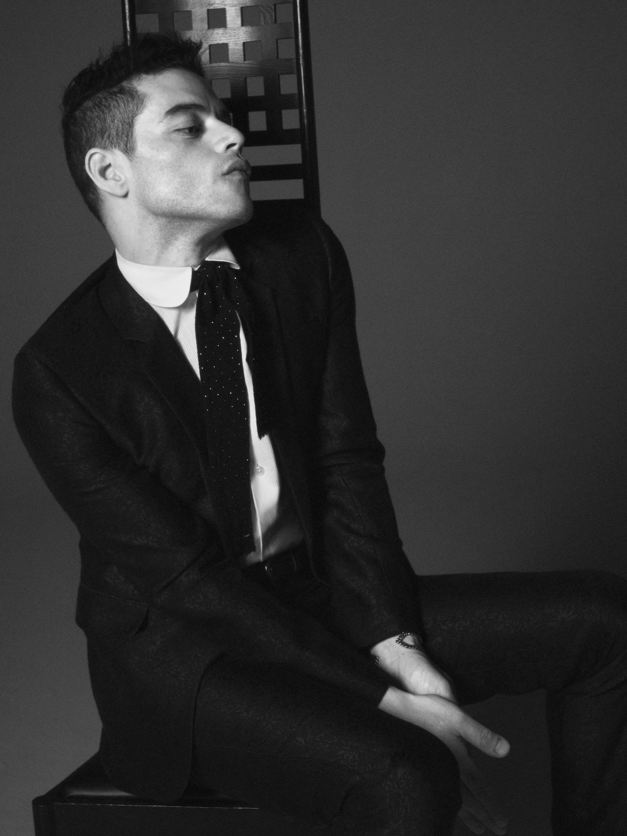 Rami Malek has been announced as the new face of Saint Laurent's menswear campaign jacket