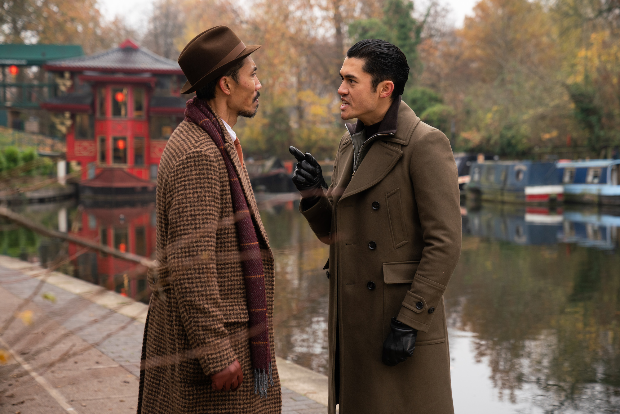 Henry Golding in Guy Ritchie's The Gentleman