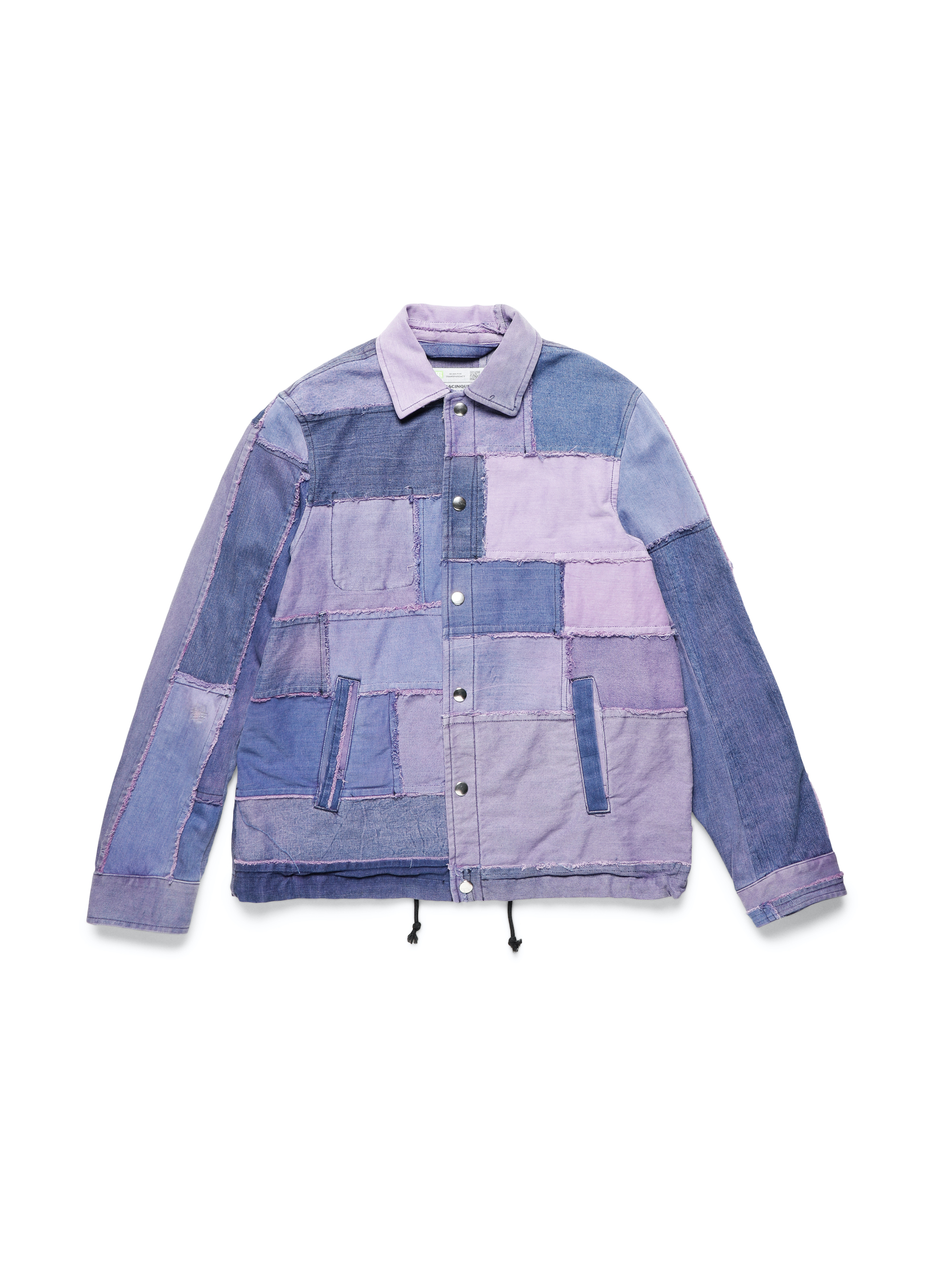 DIESEL UPCYCLING FOR 55DS Purple demin jacket