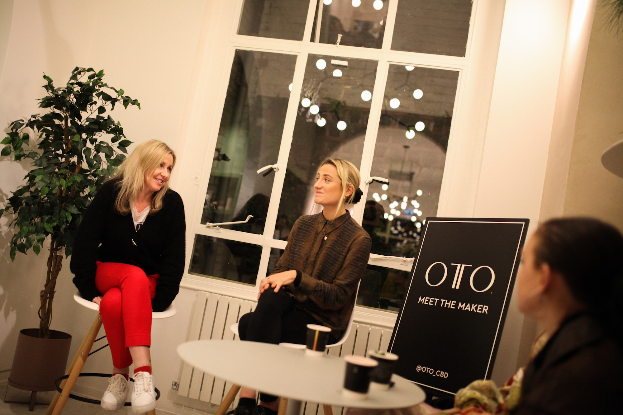 OTO CBD wellness event talk