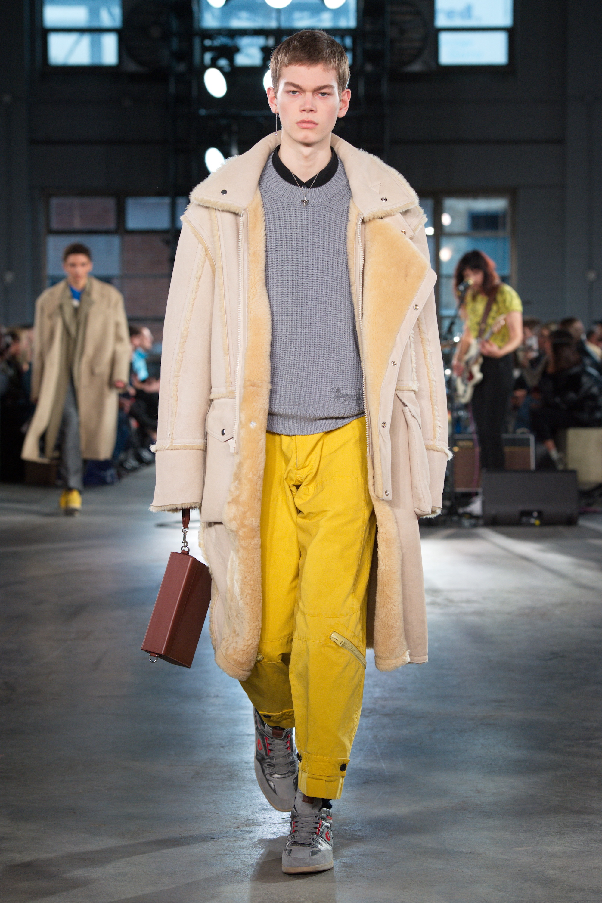 Coach Fall 2020 Yellow trousers