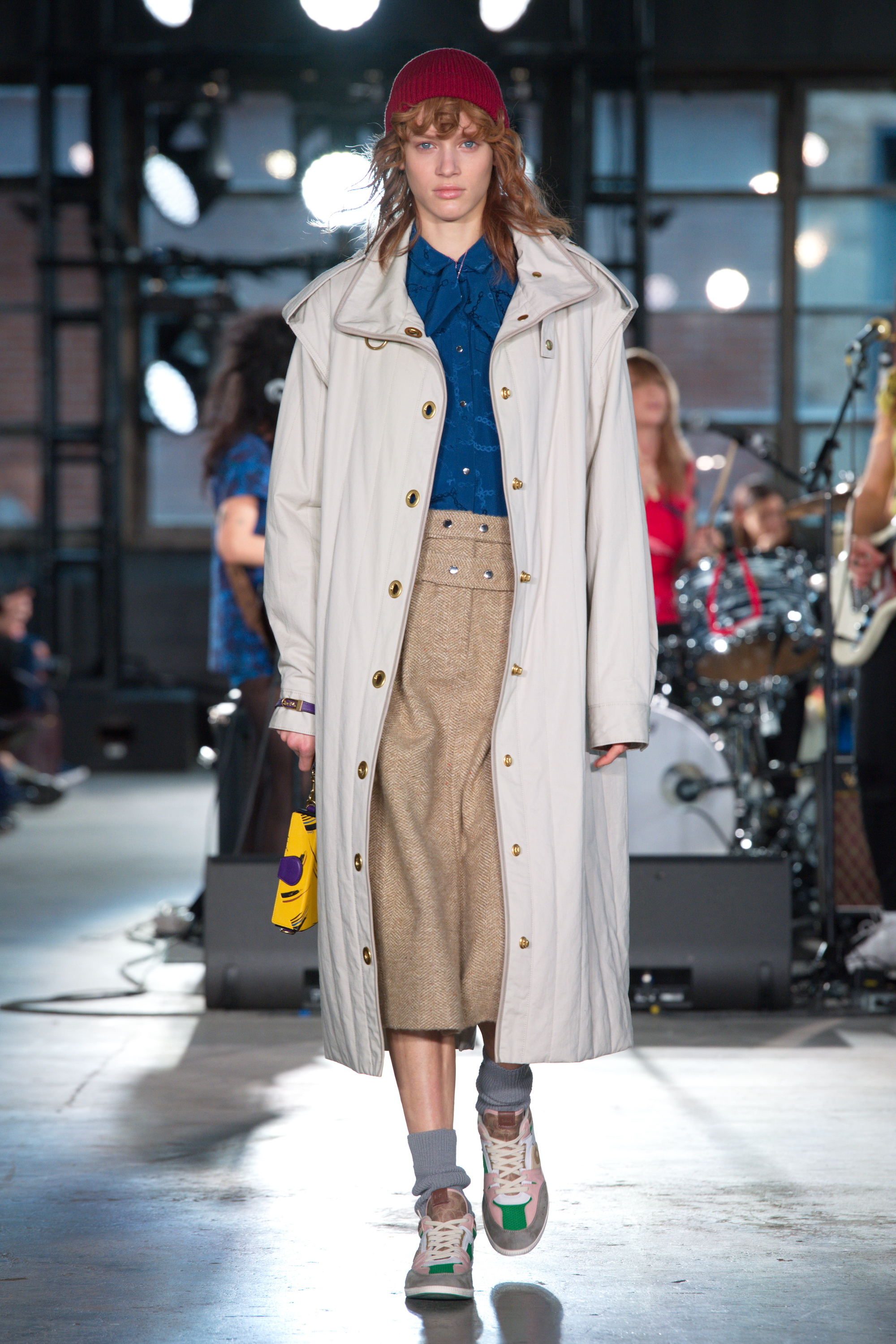 Coach 2020 fall trench coat