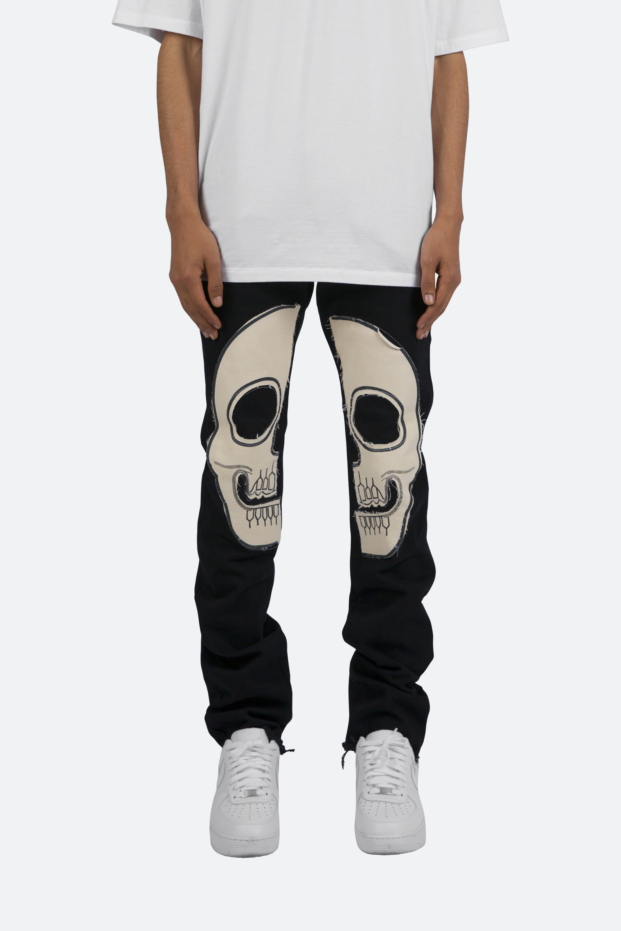 MNML skull trousers