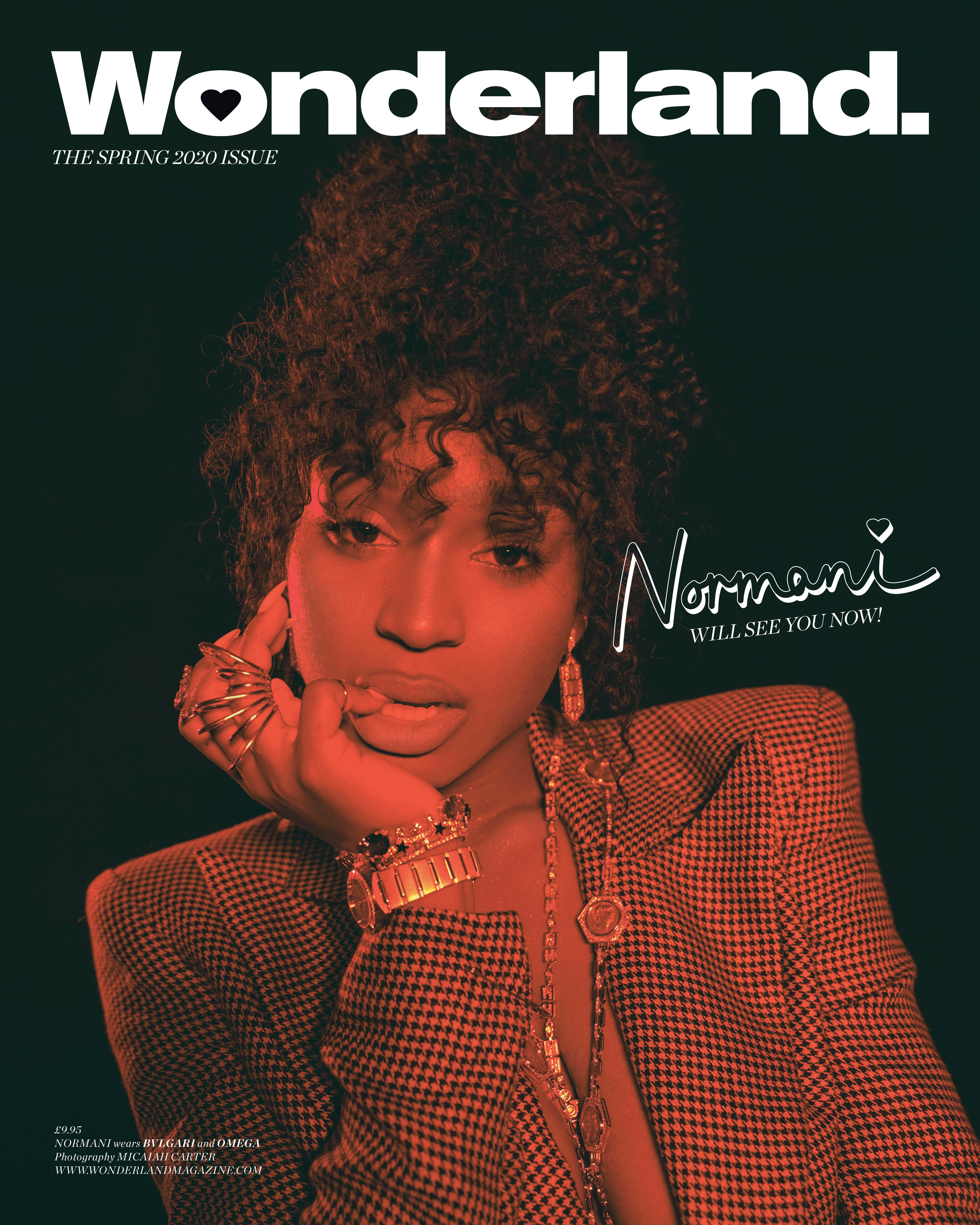 NORMANI spring issue cover