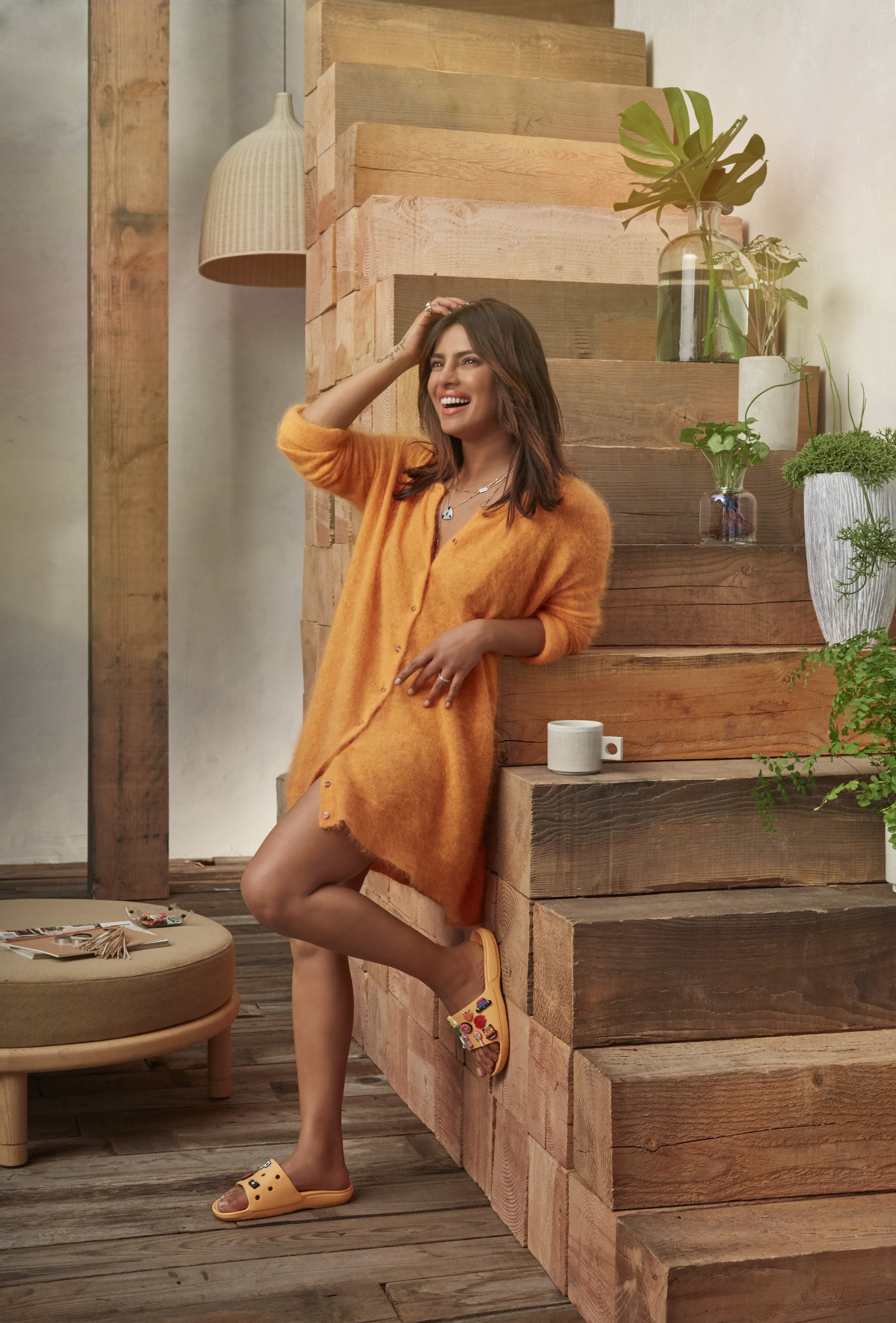 Crocs has named Priyanka Chopra as their new brand ambassador