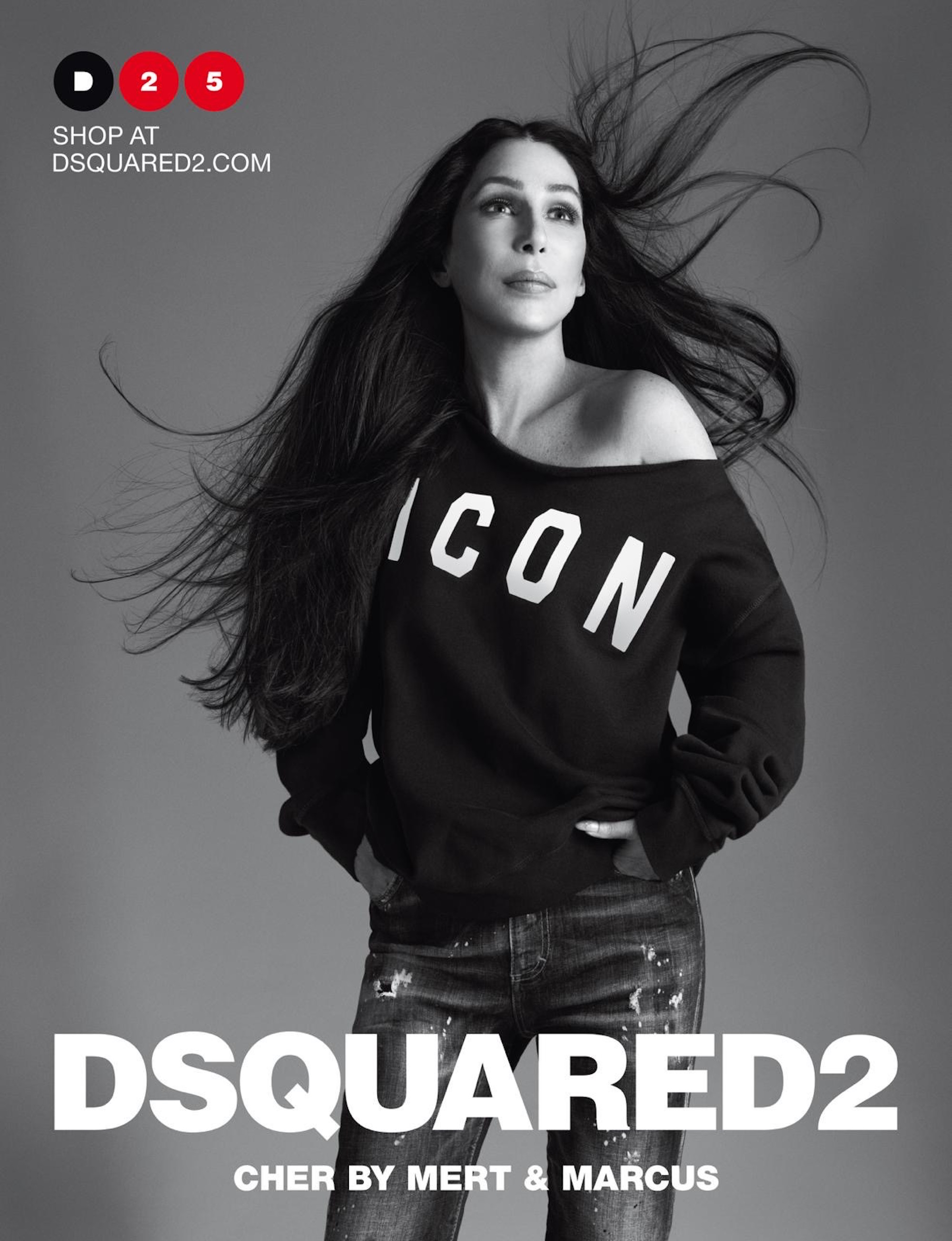 Legends only! Cher stars in Dsquared2's Spring Summer 2020 Campaign