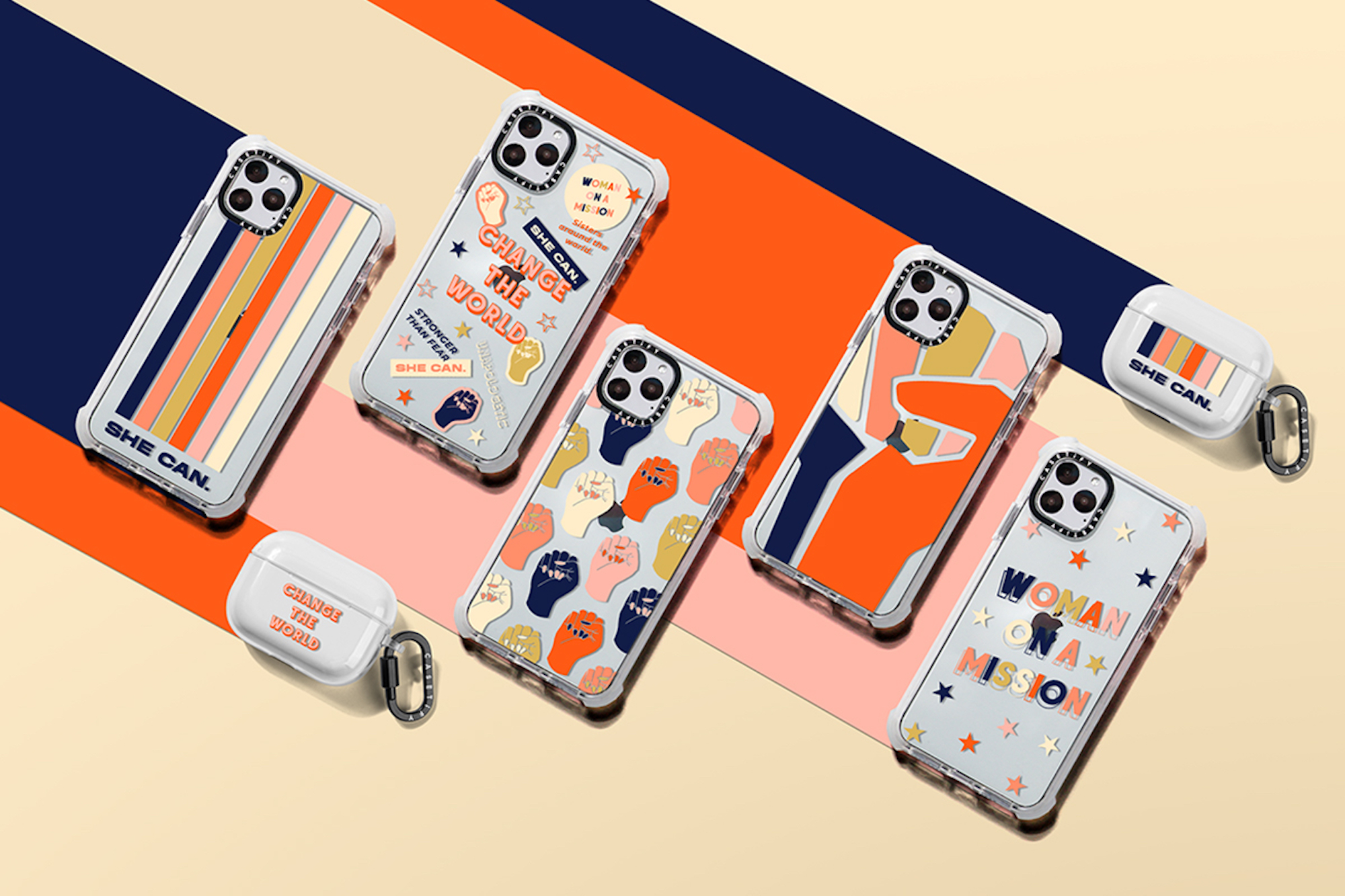 CASETiFY celebrates International Women's Day – Her Impact Matters collection long