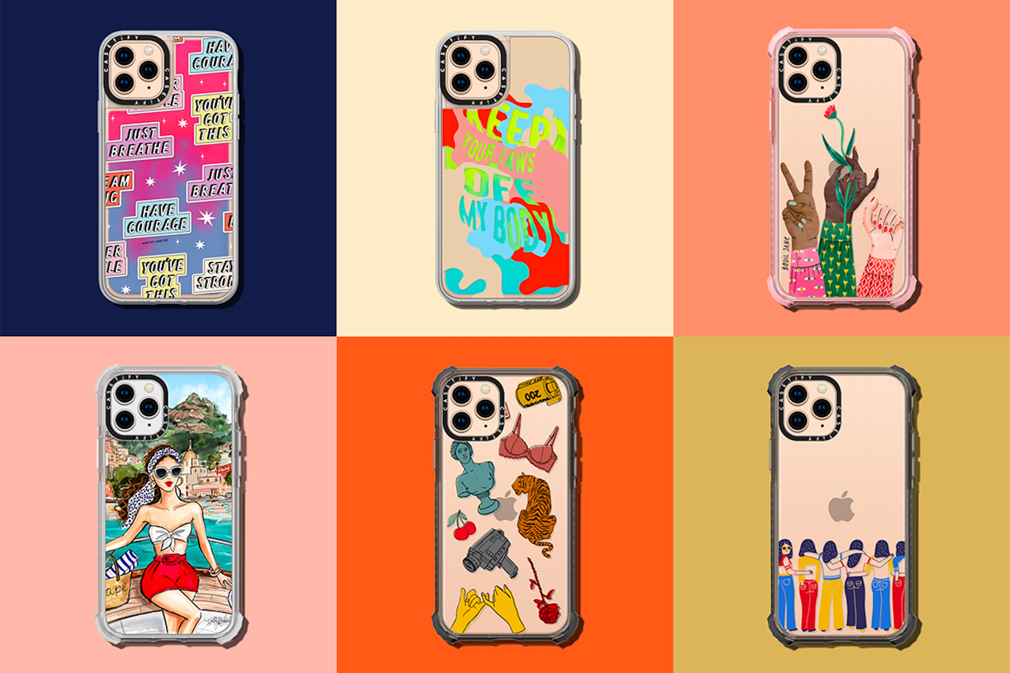 CASETiFY celebrates International Women's Day – Her Impact Matters collection grid