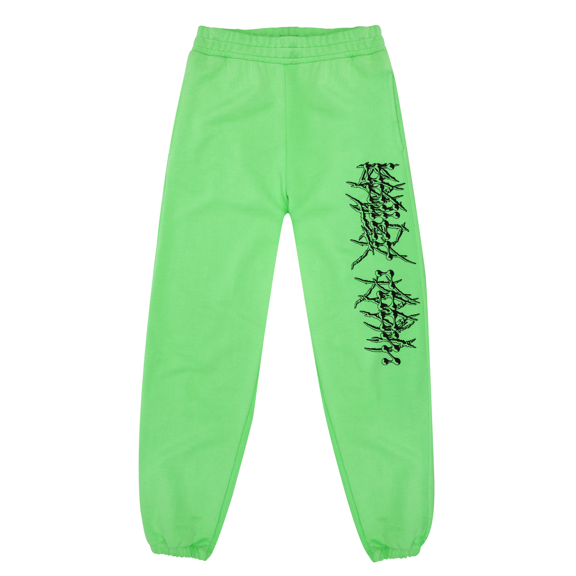 Boiler Room RTW collection Mowalola green trackies