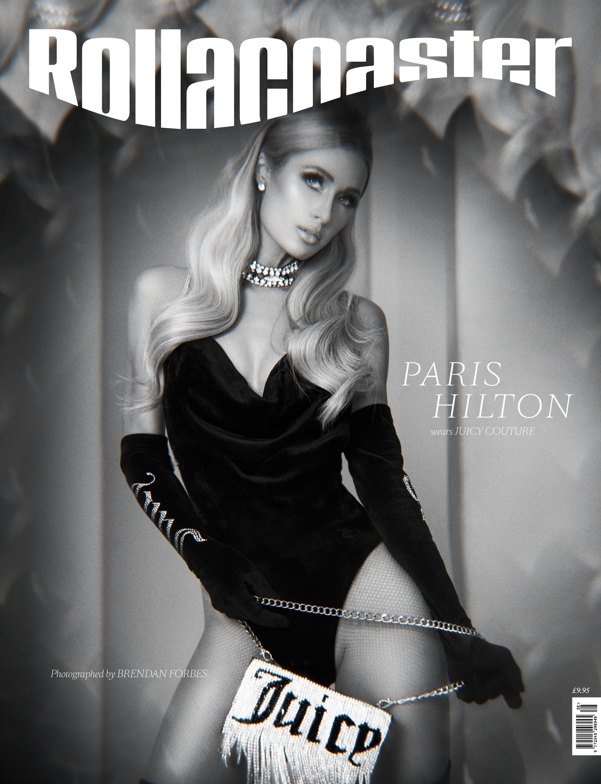 Paris Hilton for the SS20 cover of Rollacoaster