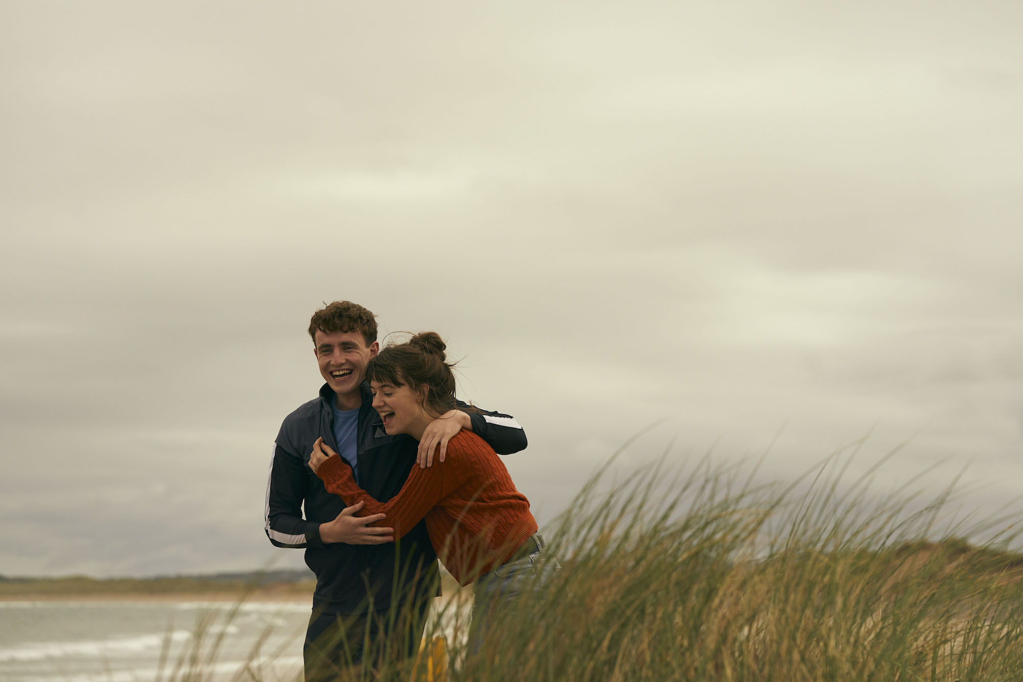 BBC's adaption of Normal People - First Look Marianne Connell beach