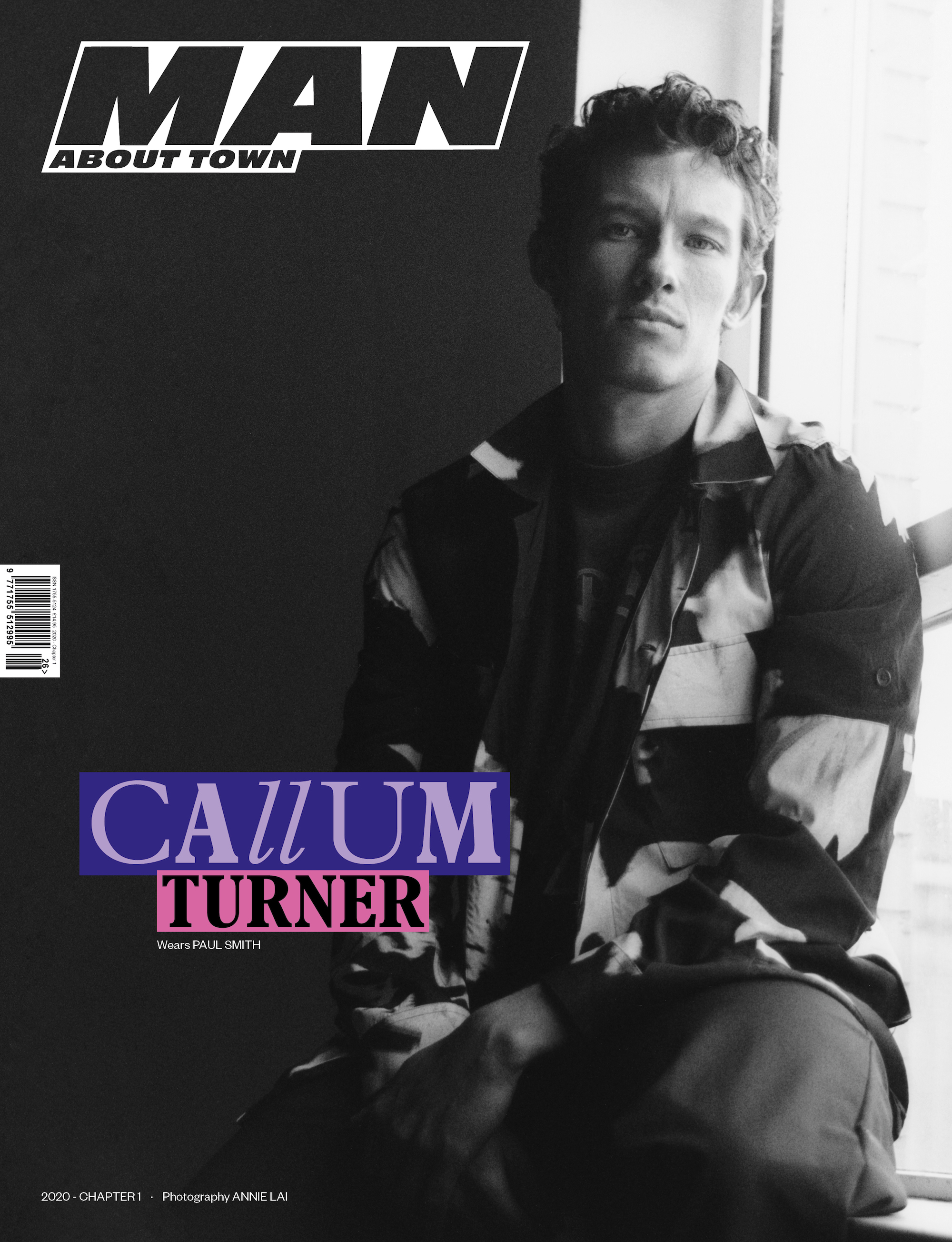 Callum Turner covers Man About Town