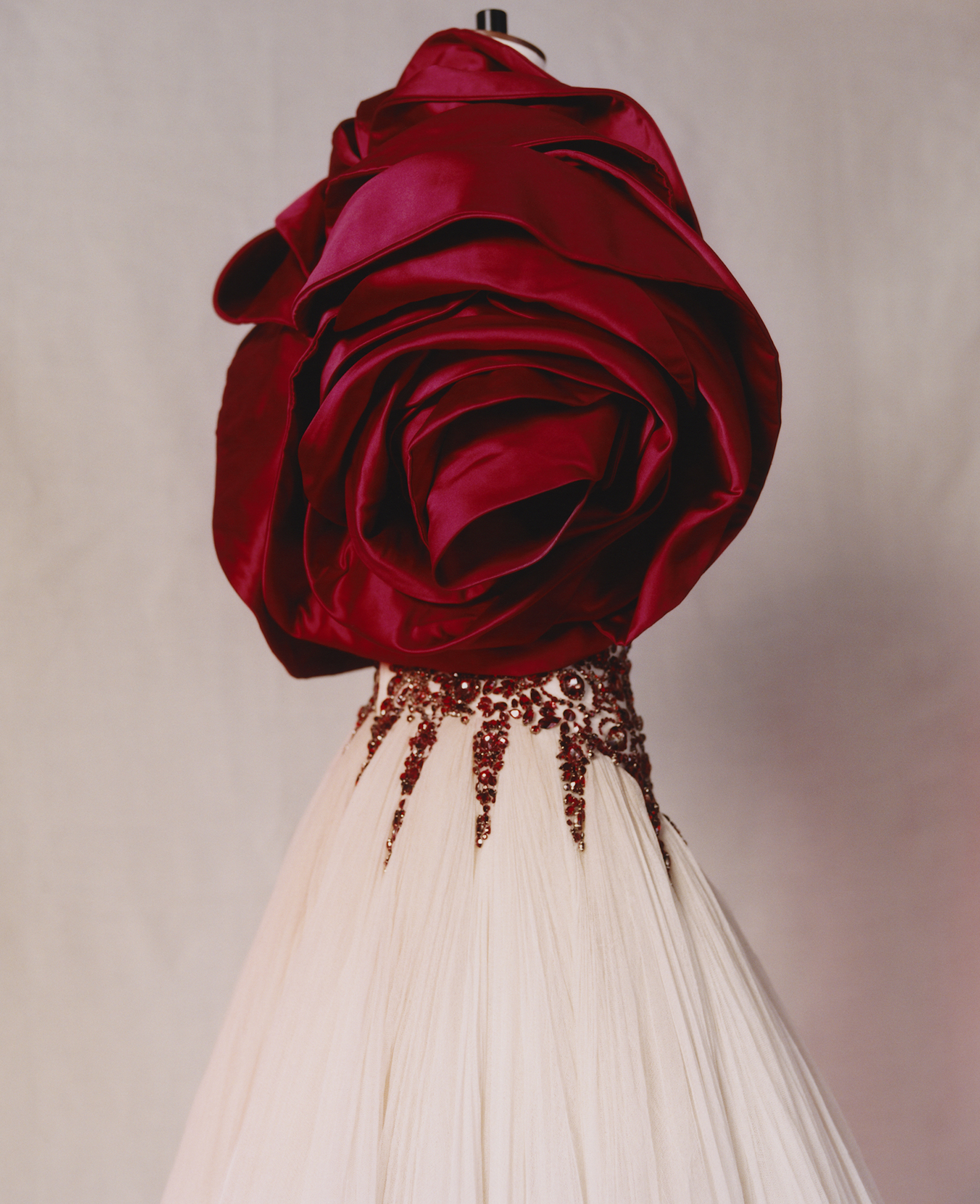 McQueen Creators roses dress