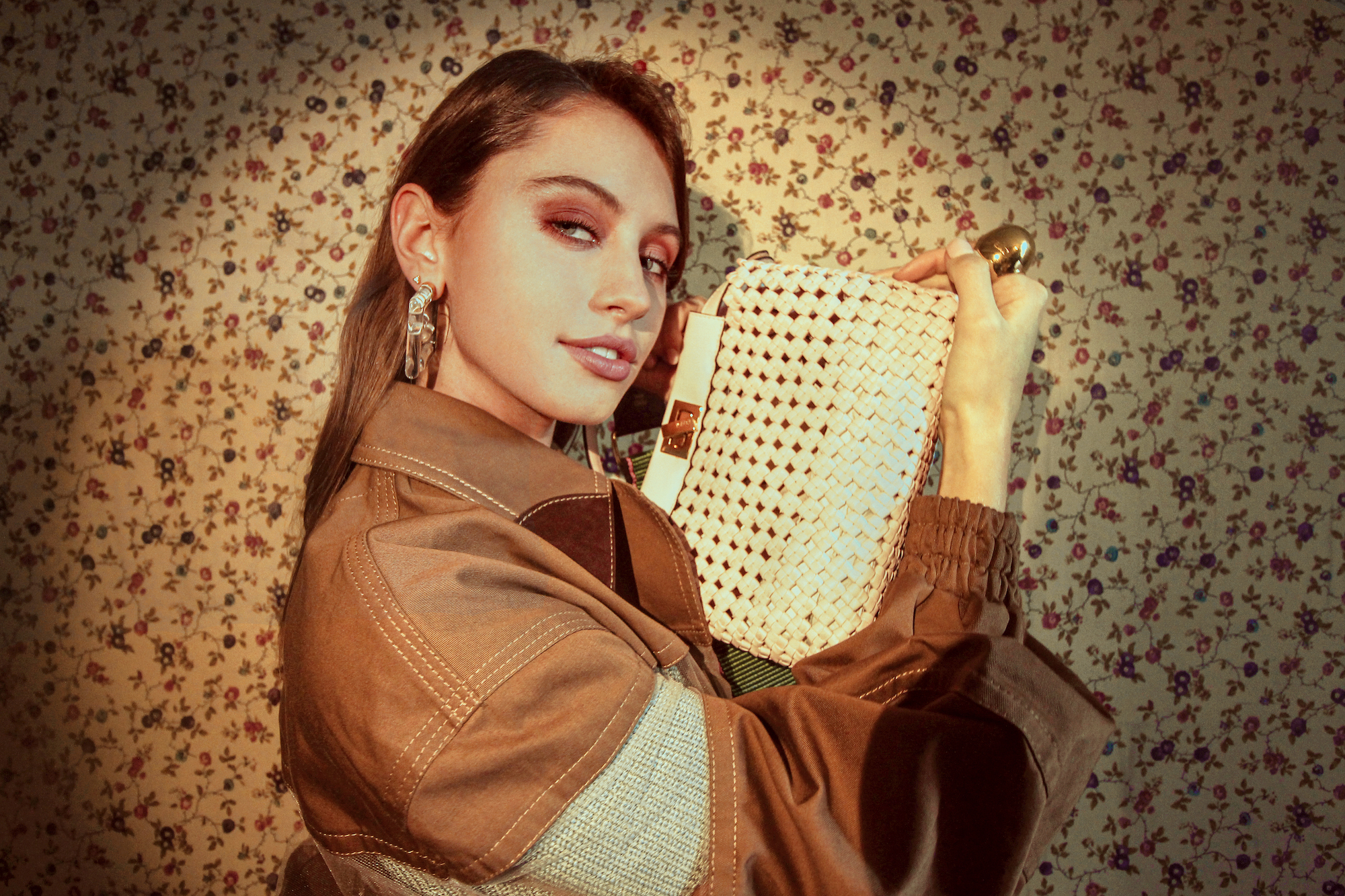 Iris Law is the new face for Fendi Peekaboo bag