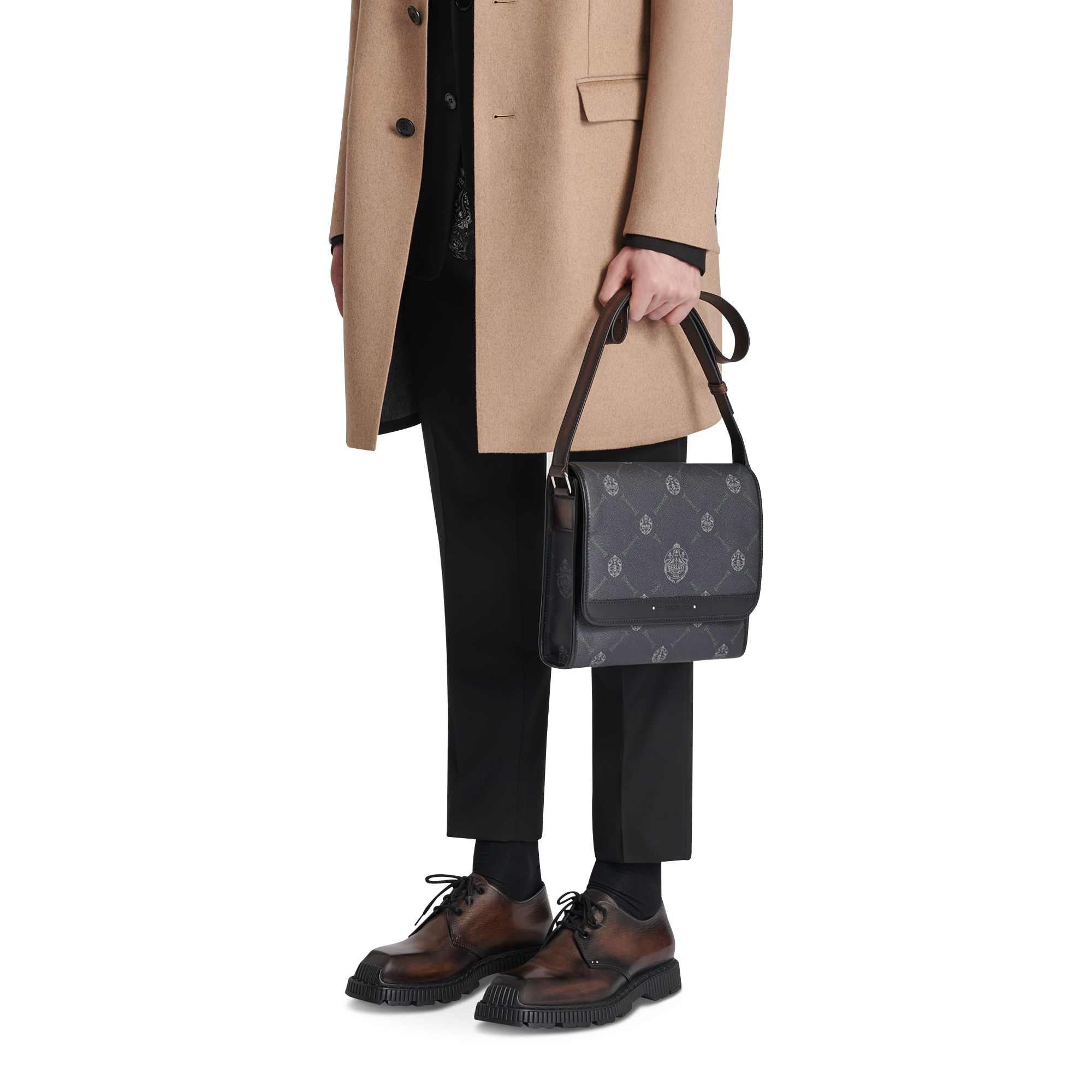 Berluti signature collection bag