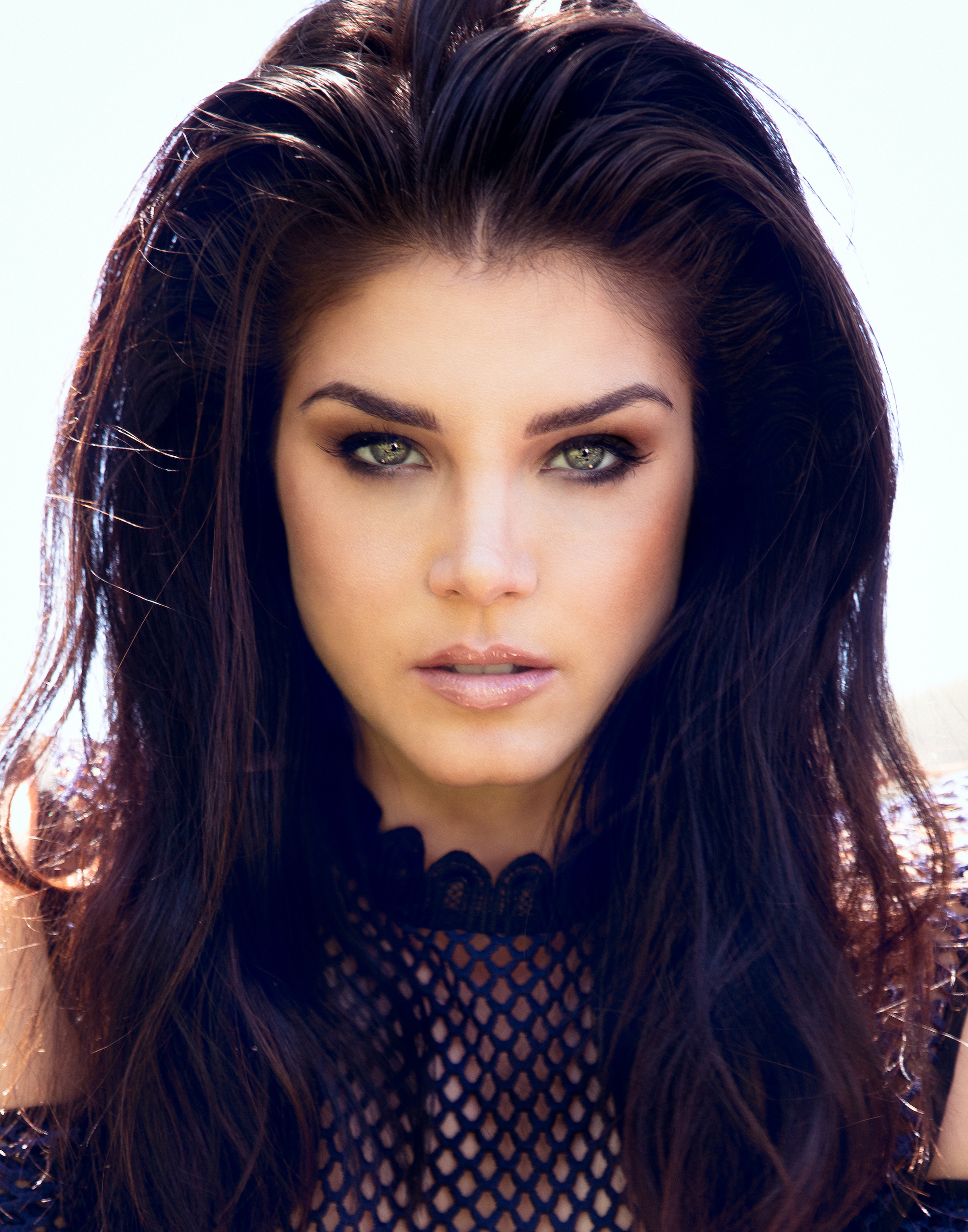 Marie Avgeropoulos close up shot