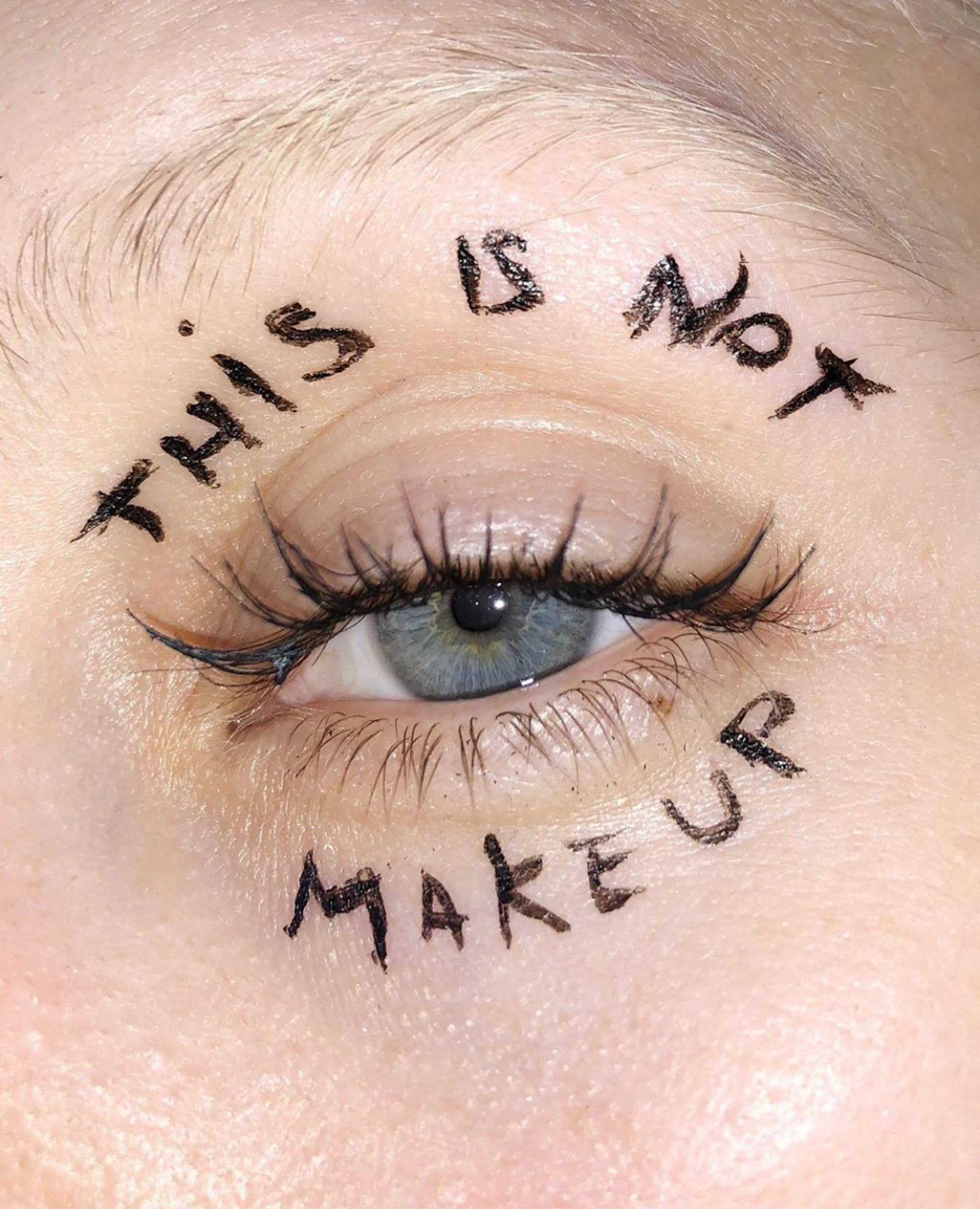 Ugly revolution makeup this is not make up eye