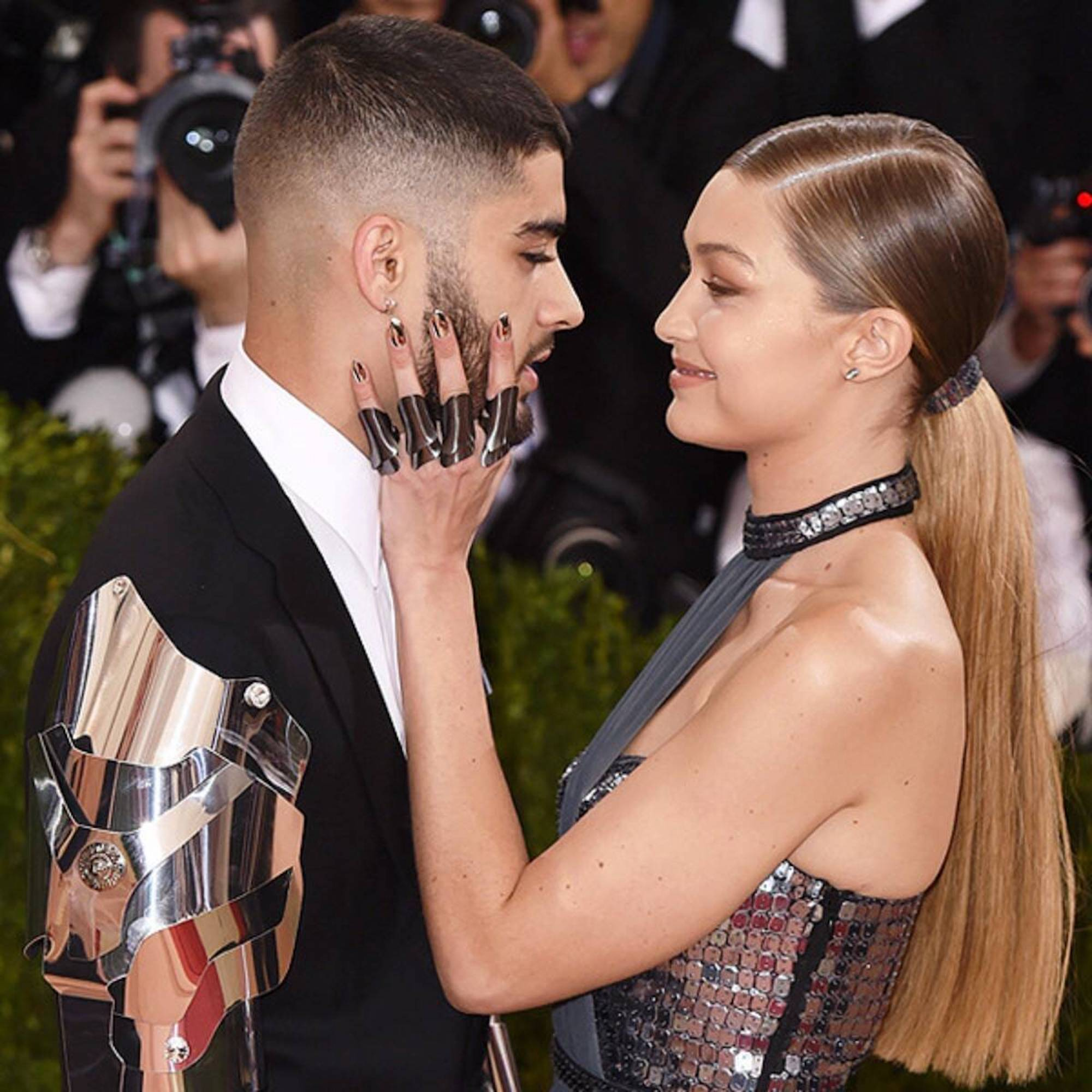 Zayn Malik and Gigi Hadid at the Met Gala