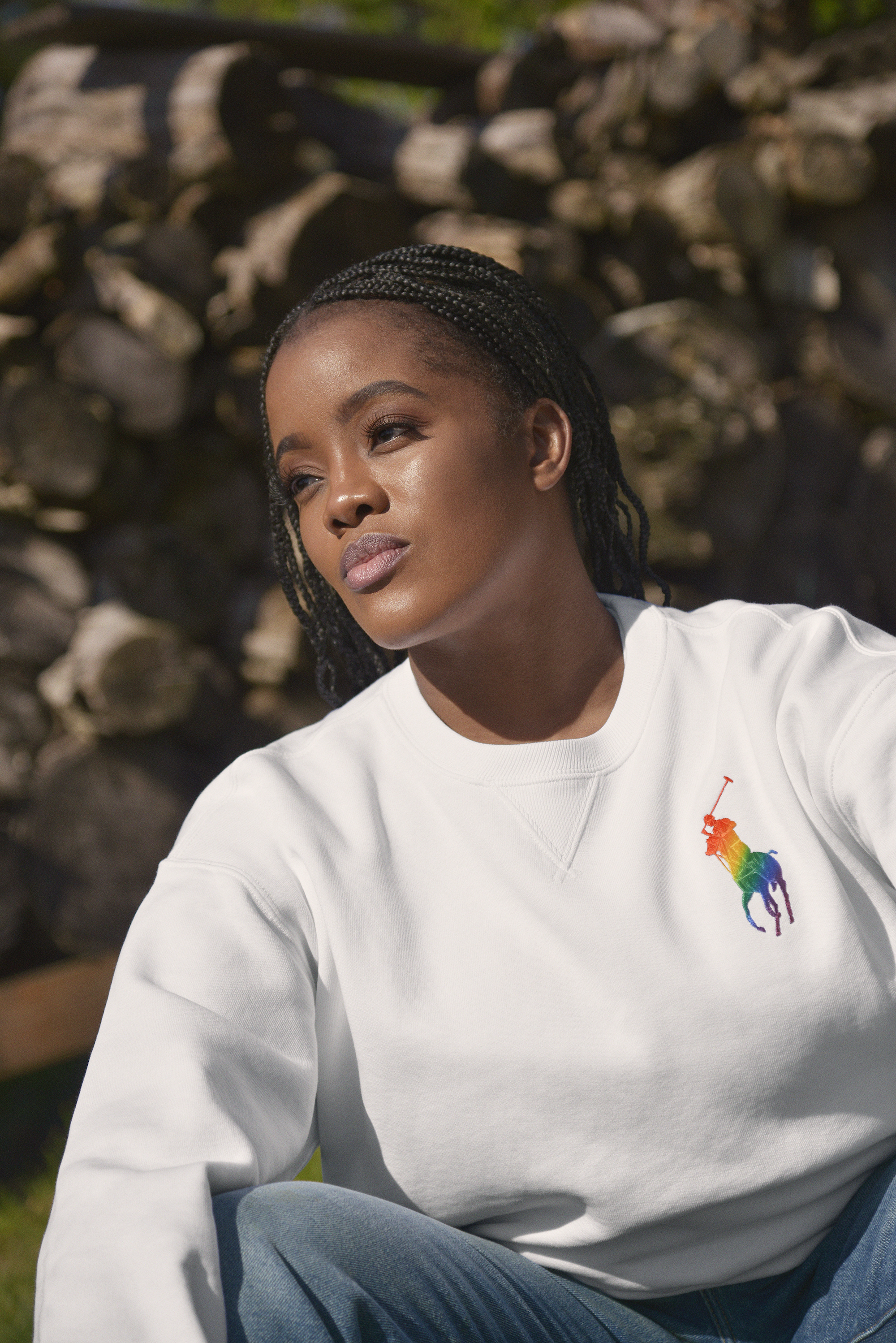 Ebony Nunez for Ralph Lauren Pride