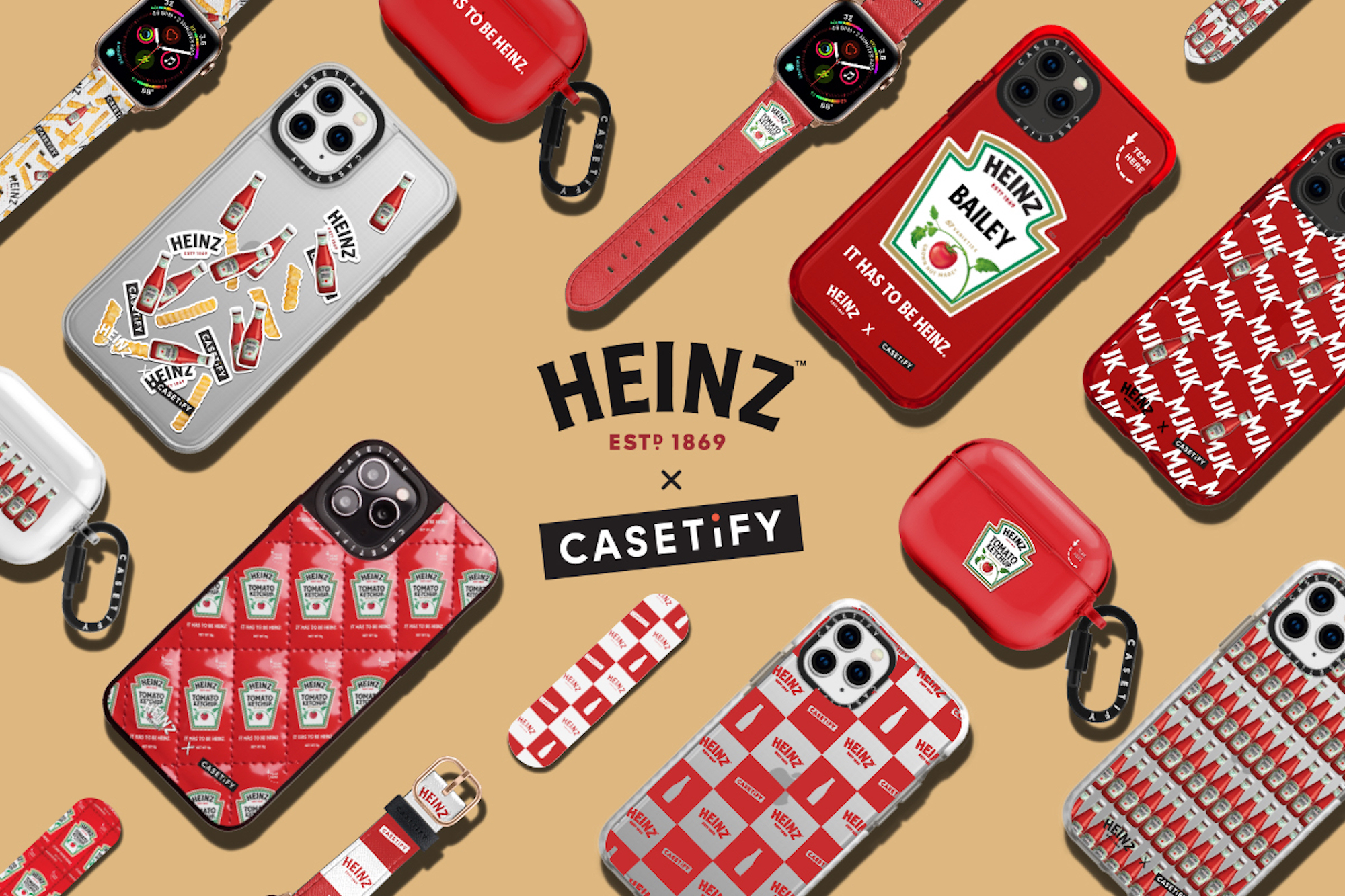 HEINZ and CASETiFY collaboration for world ketchup day