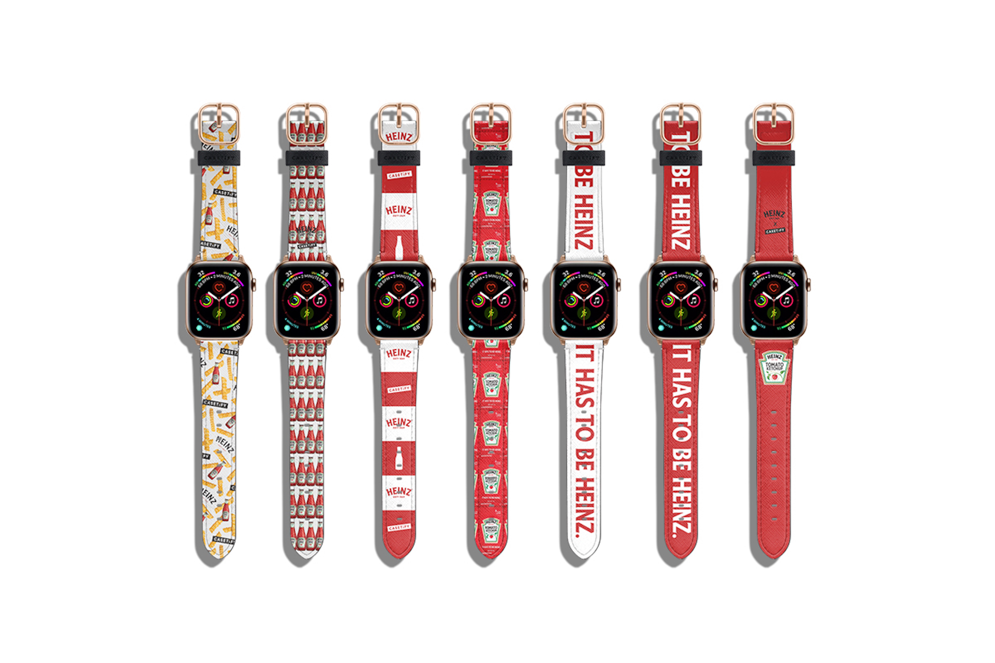 Heinz Casetify apple wacth straps collaboration