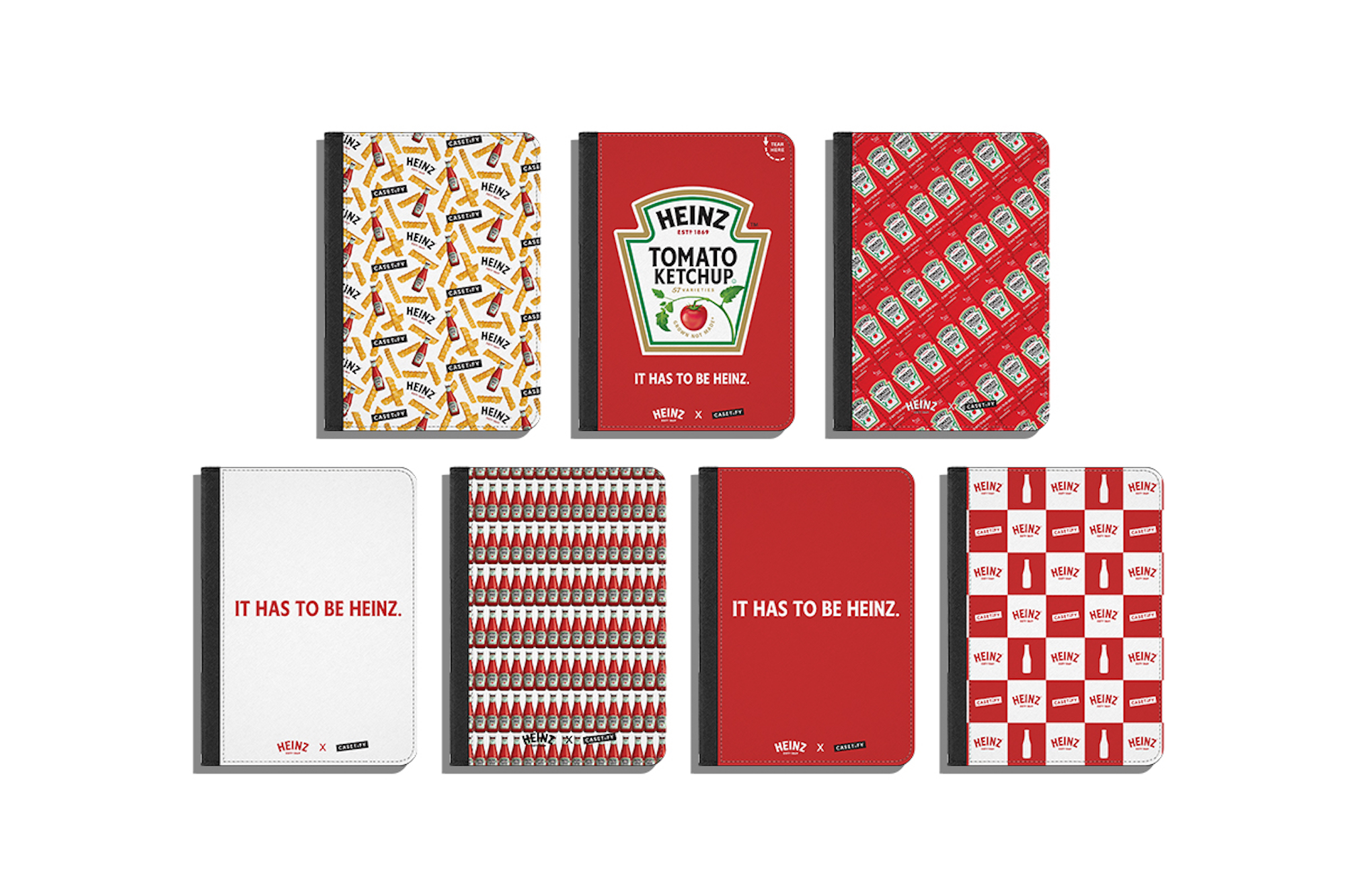 HEINZ and casetify notebooks collaboration