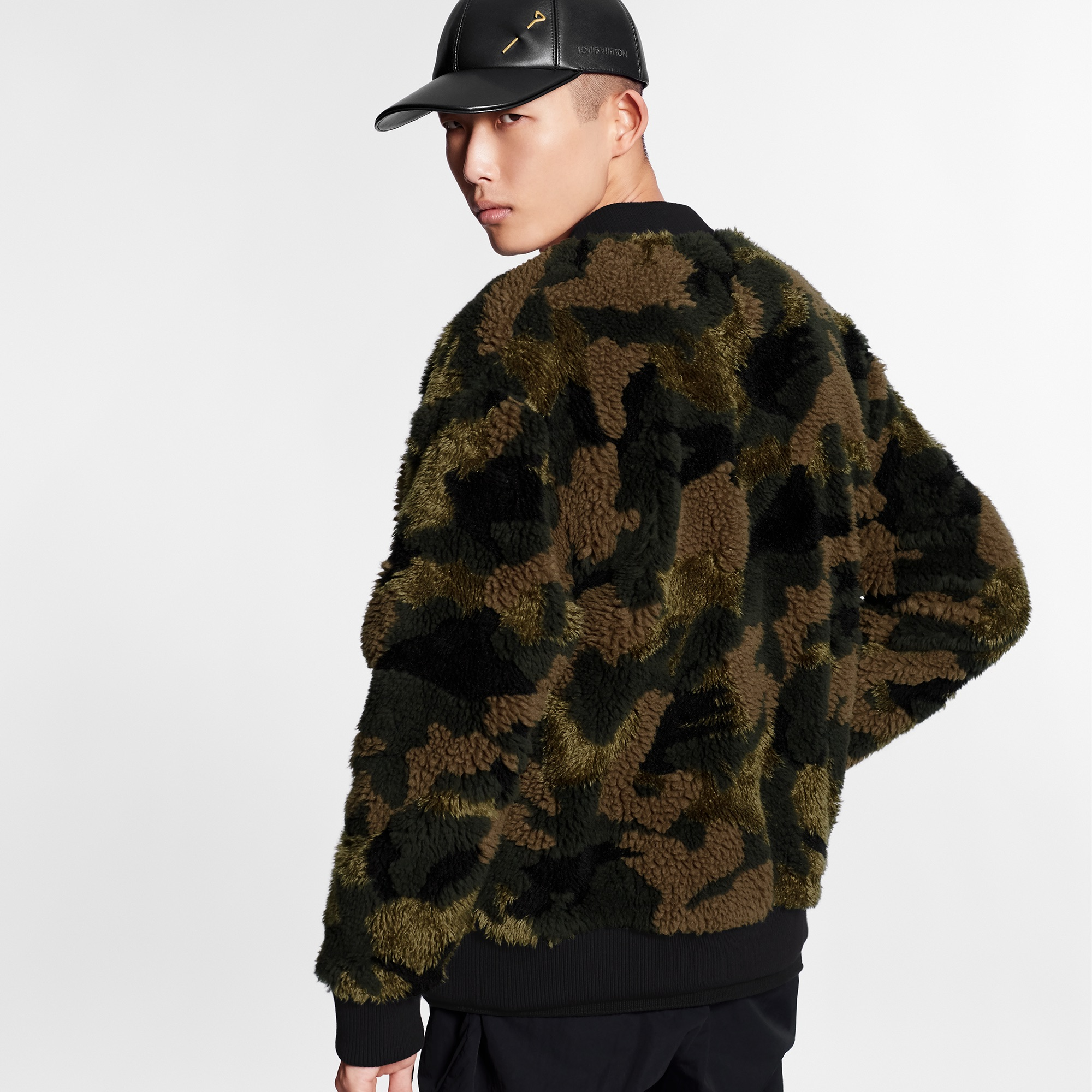 Camo print Louis Vuitton jacket