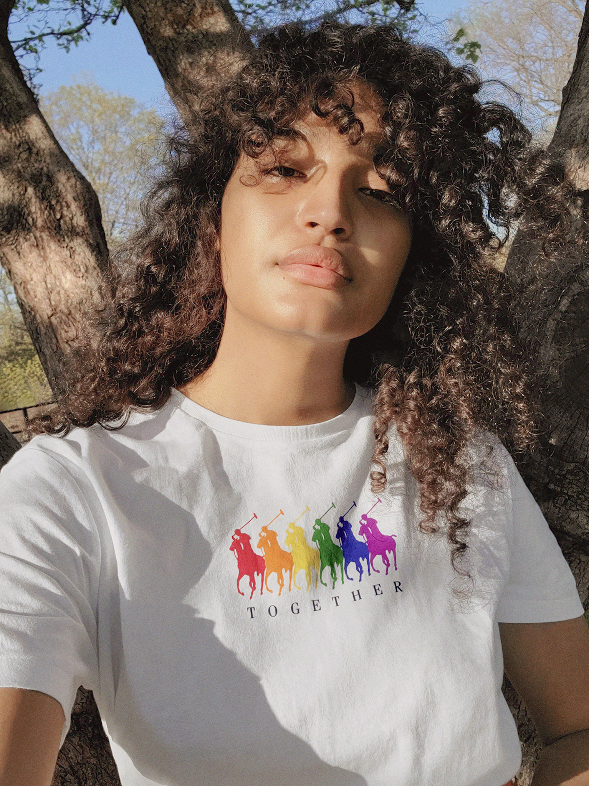 Indya Moore for Ralph Lauren pride