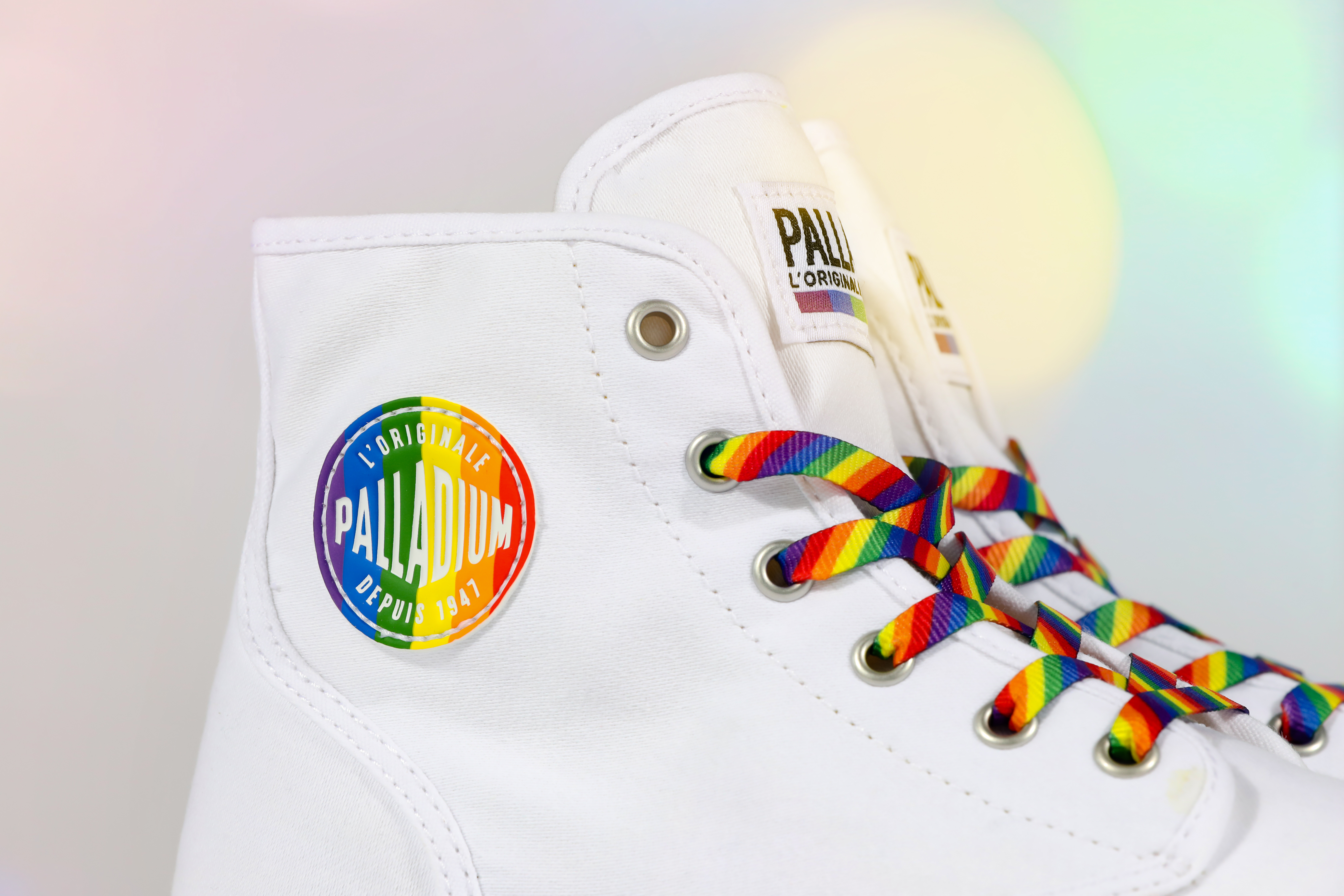 palladiumboots launch their new Pride inspired collection in black and white